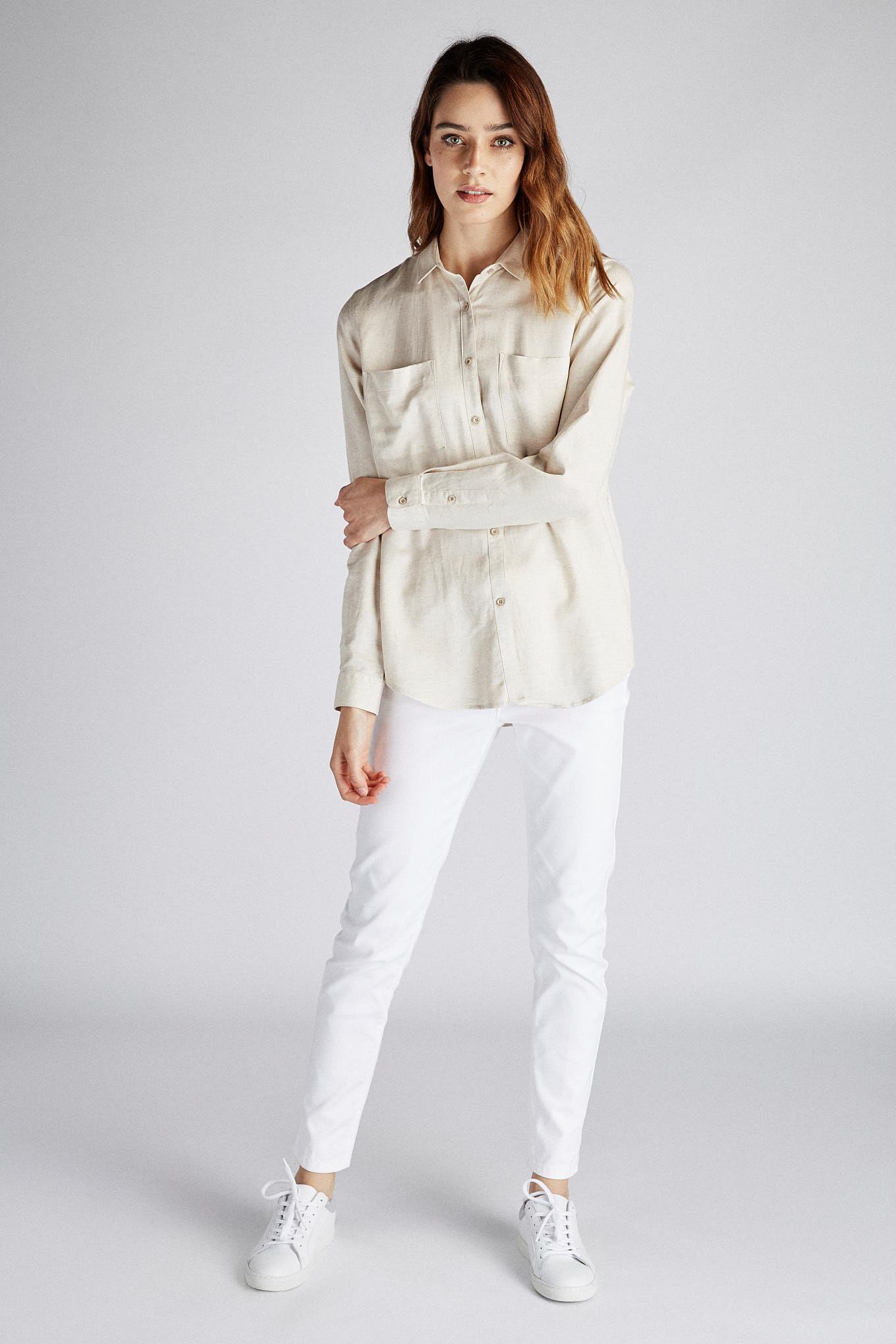 Camisa Areia Classic Mulher