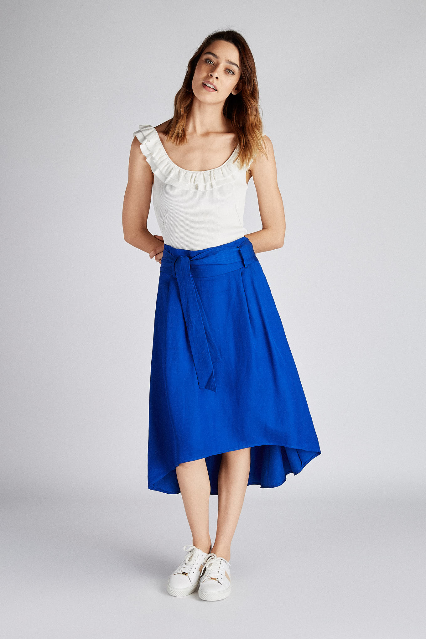 Skirt Royal Blue Fantasy Woman