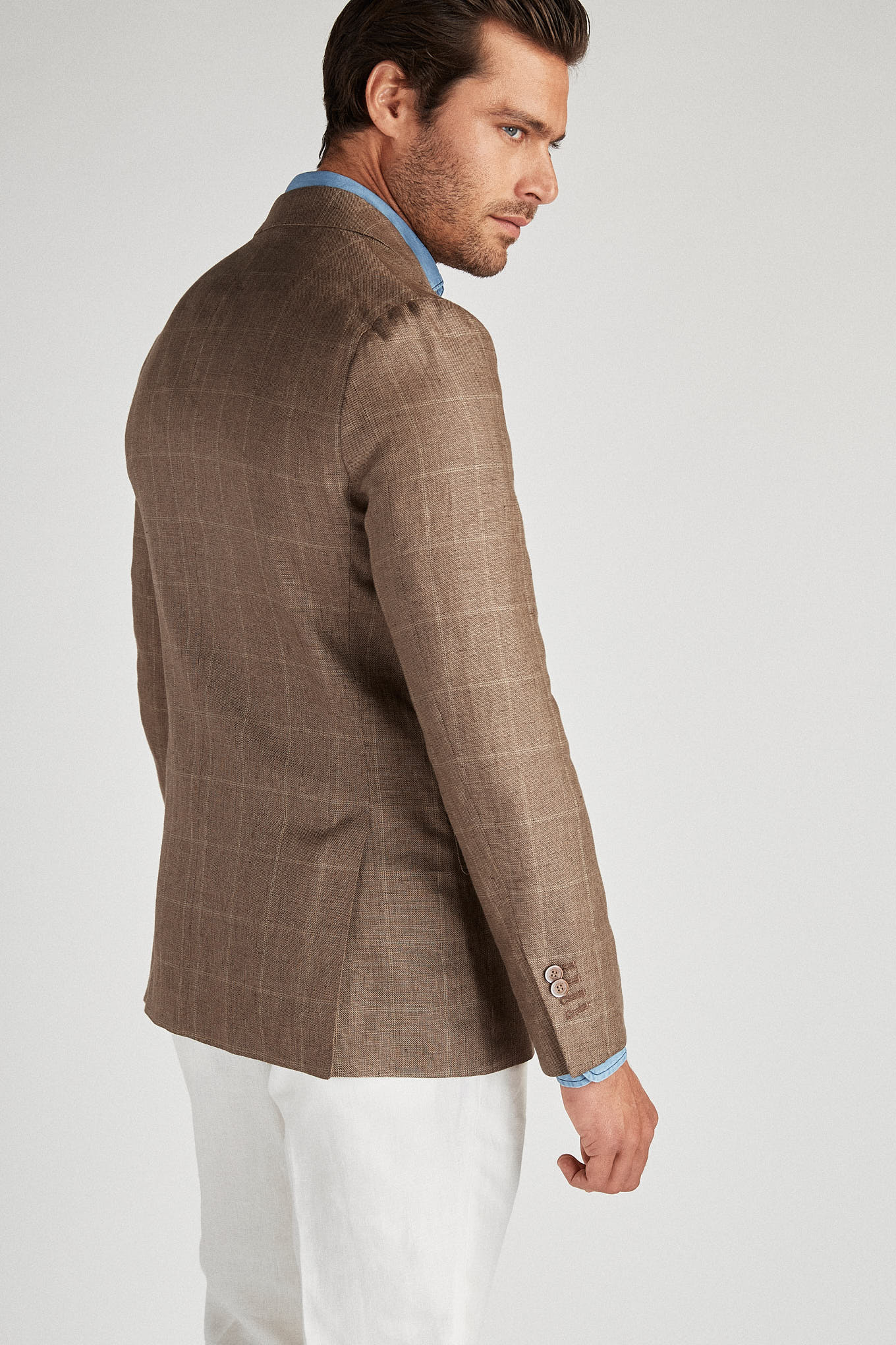 Blazer Brown Classic Man
