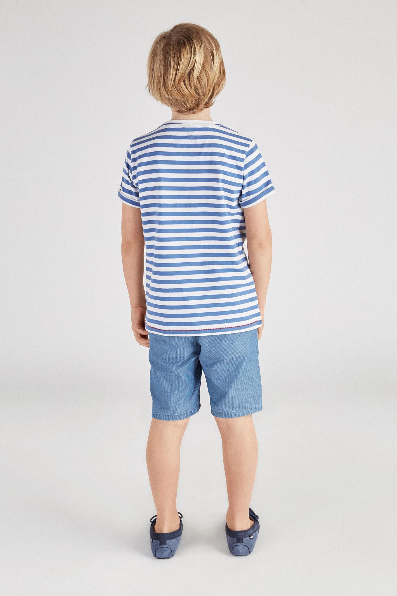 T-Shirt Medium Blue Sport Boy