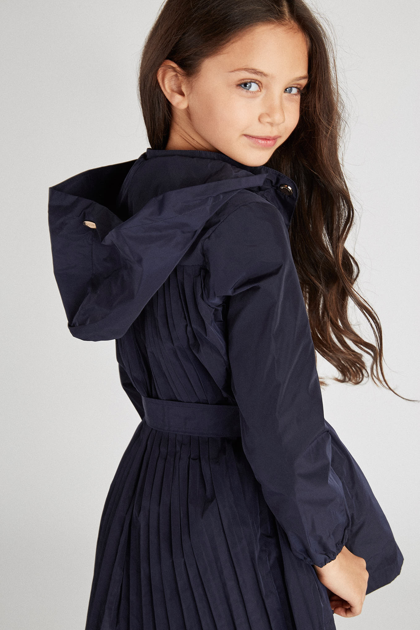 Parka Dark Blue Sport Girl