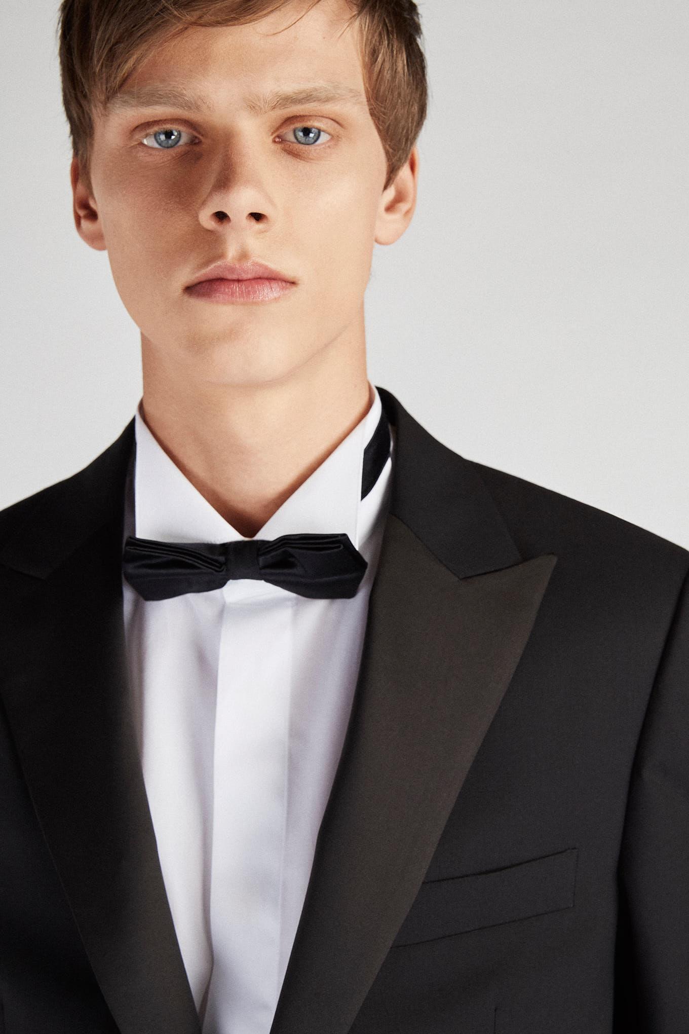 Tuxedo Preto Classic Homem