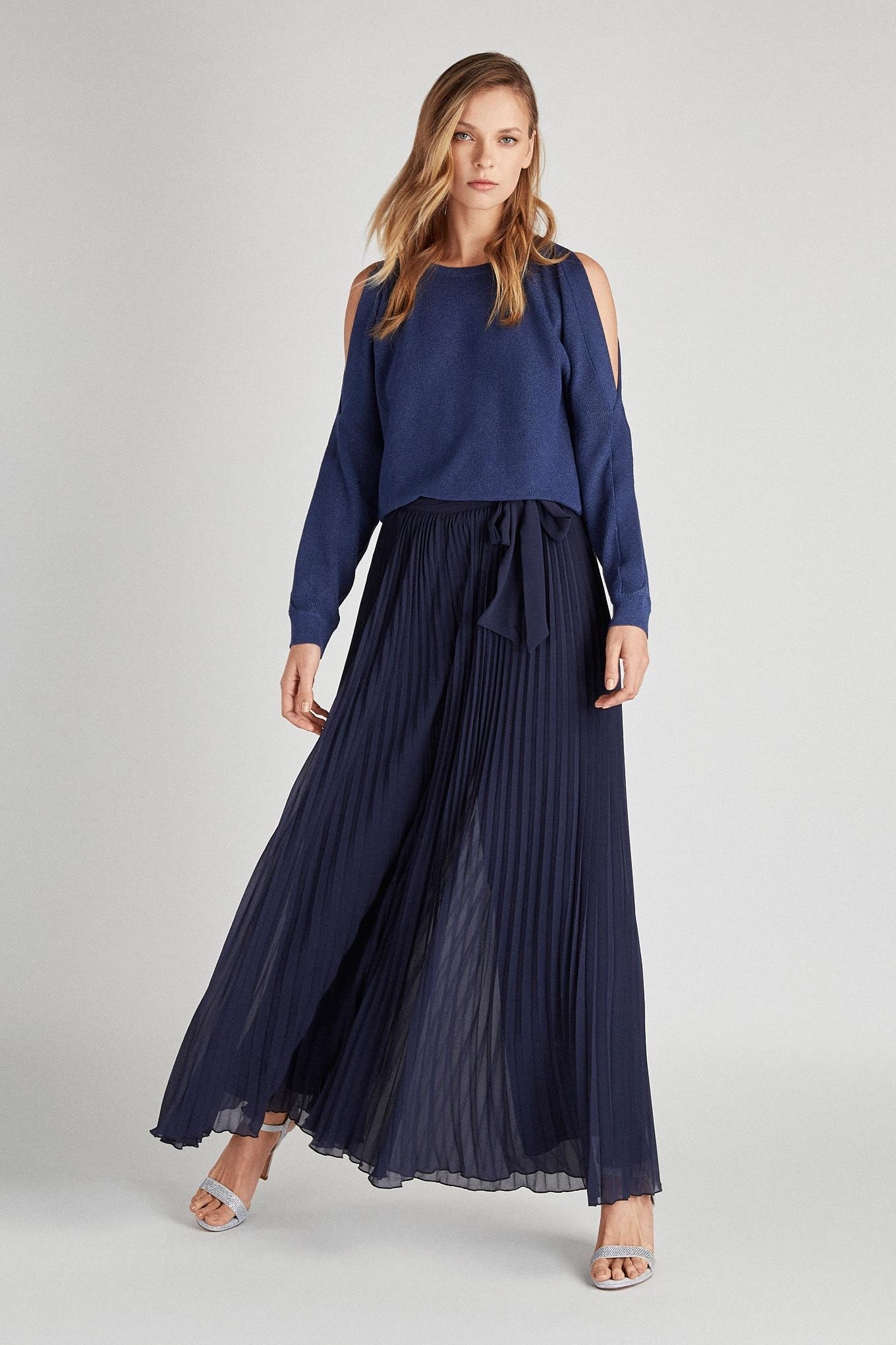 Calças Azul Escuro Fantasy Mulher