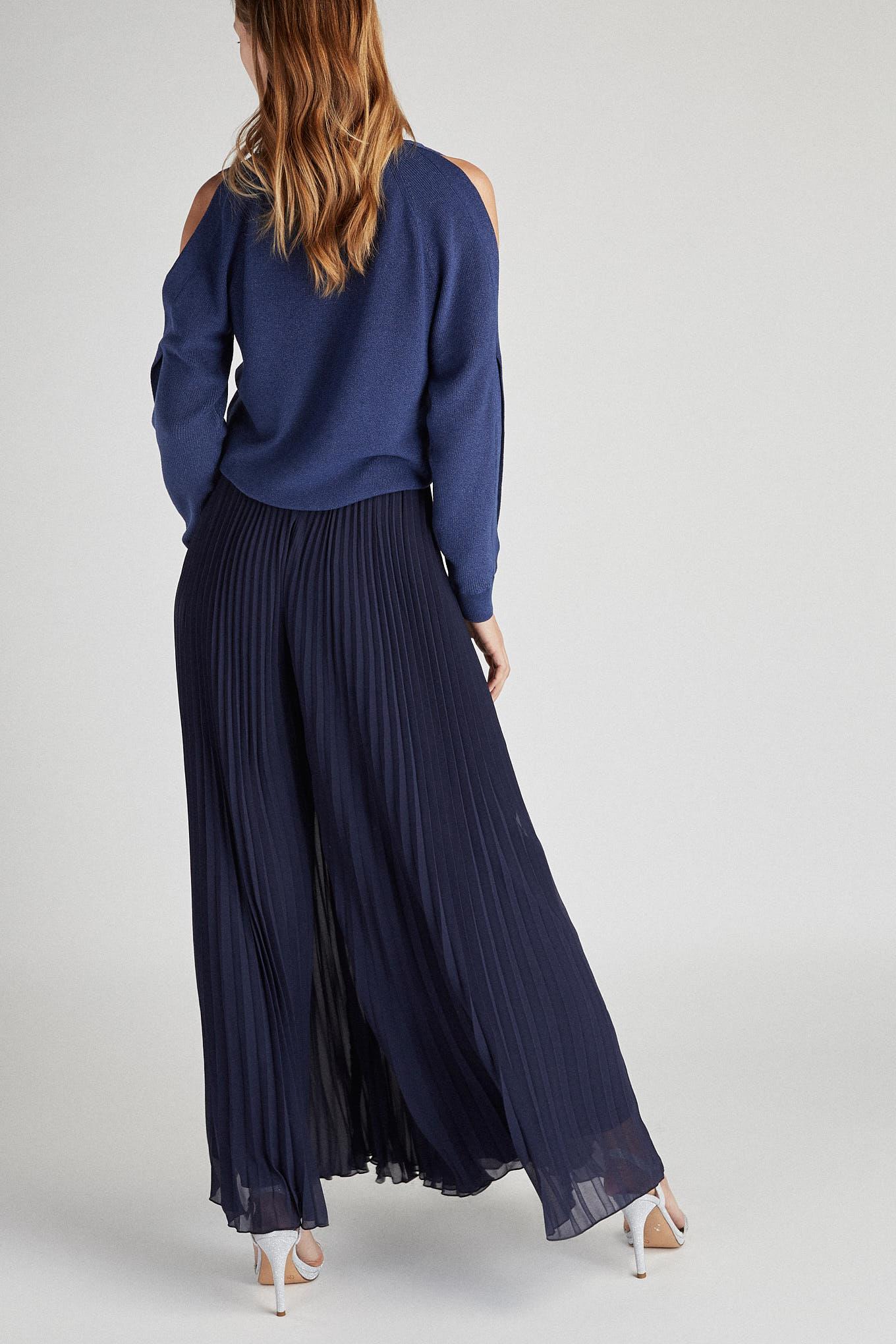 Trousers Dark Blue Fantasy Woman