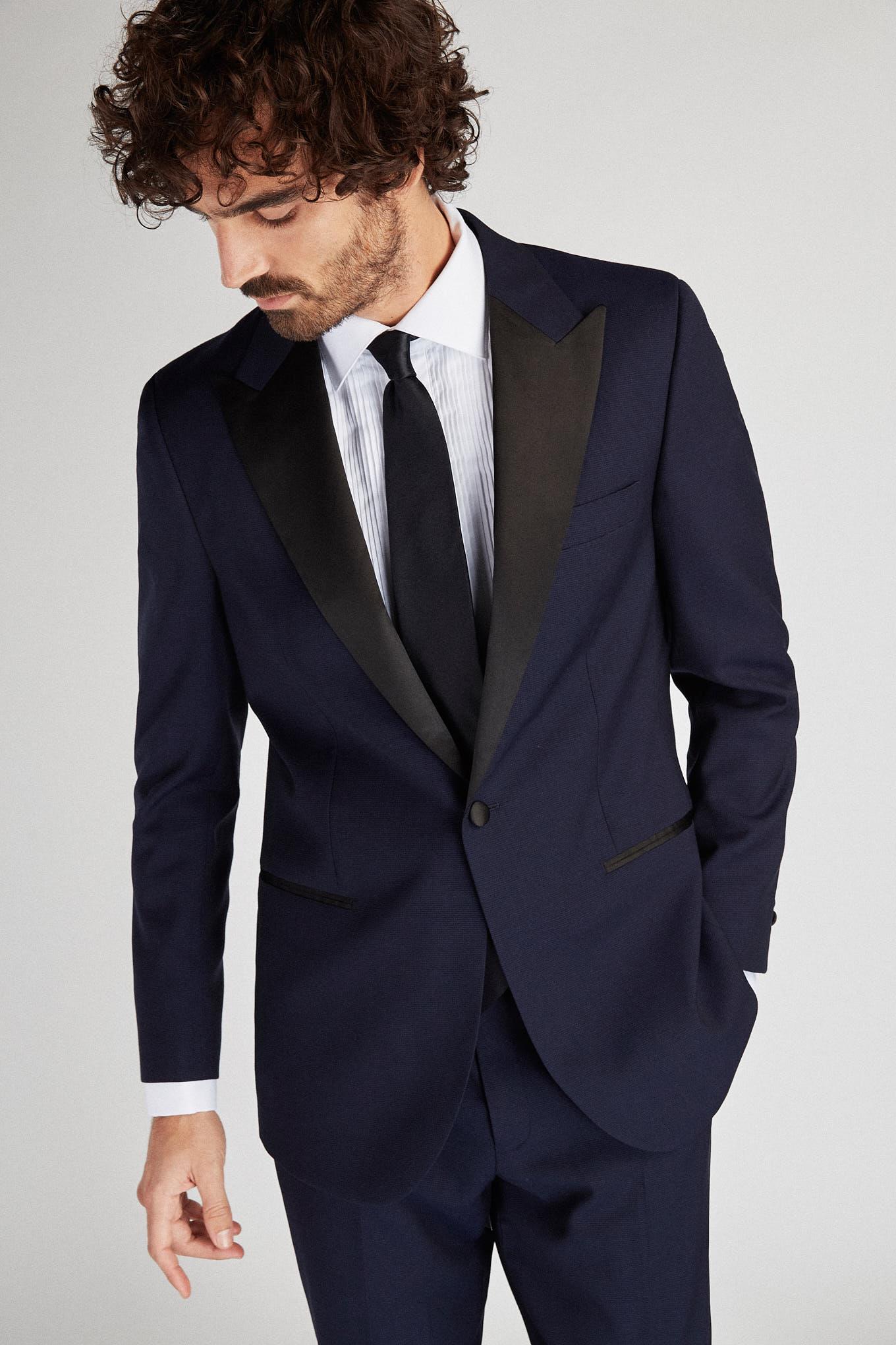 Tuxedo Dark Blue Classic Man