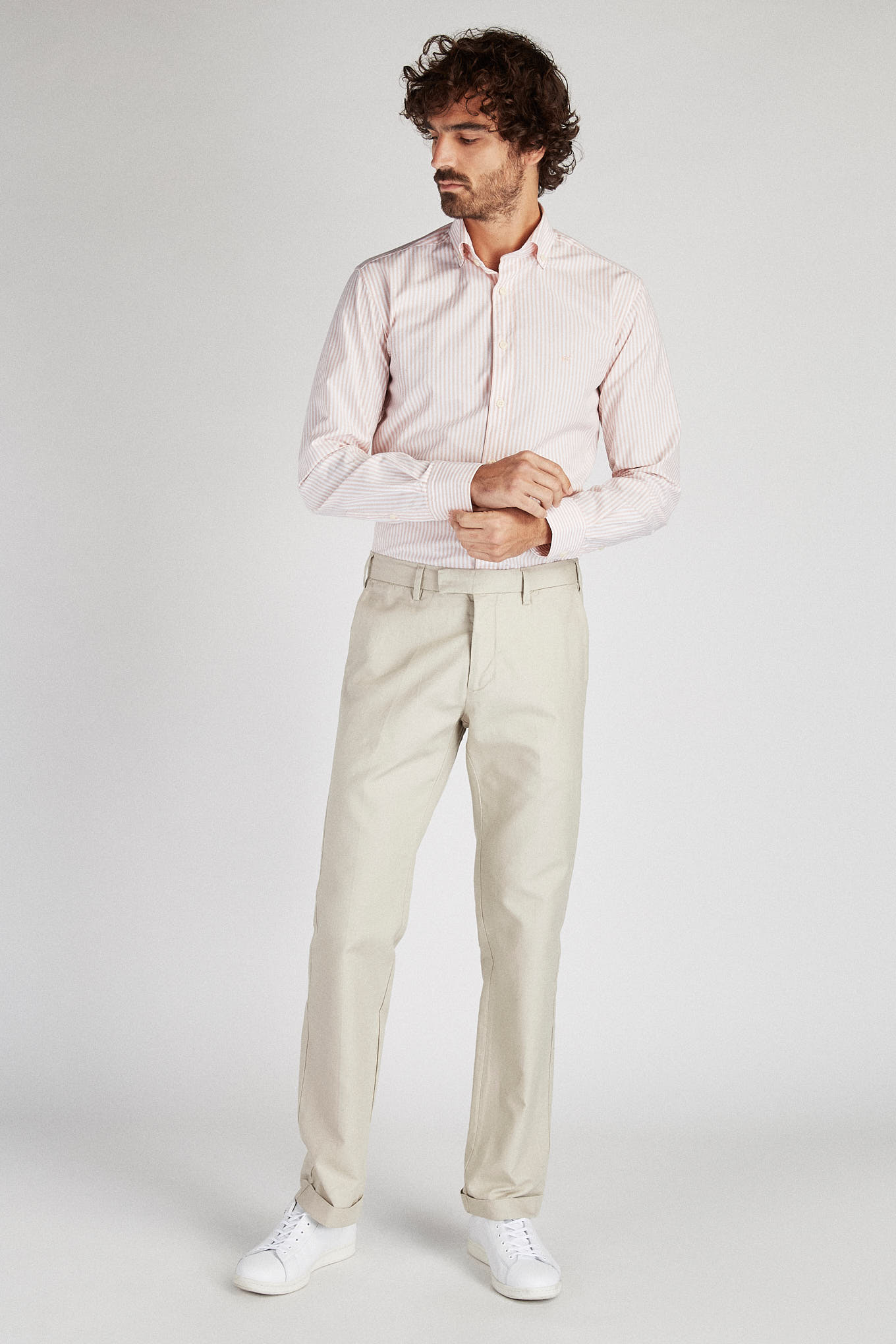 Chino Trousers Stone Sport Man