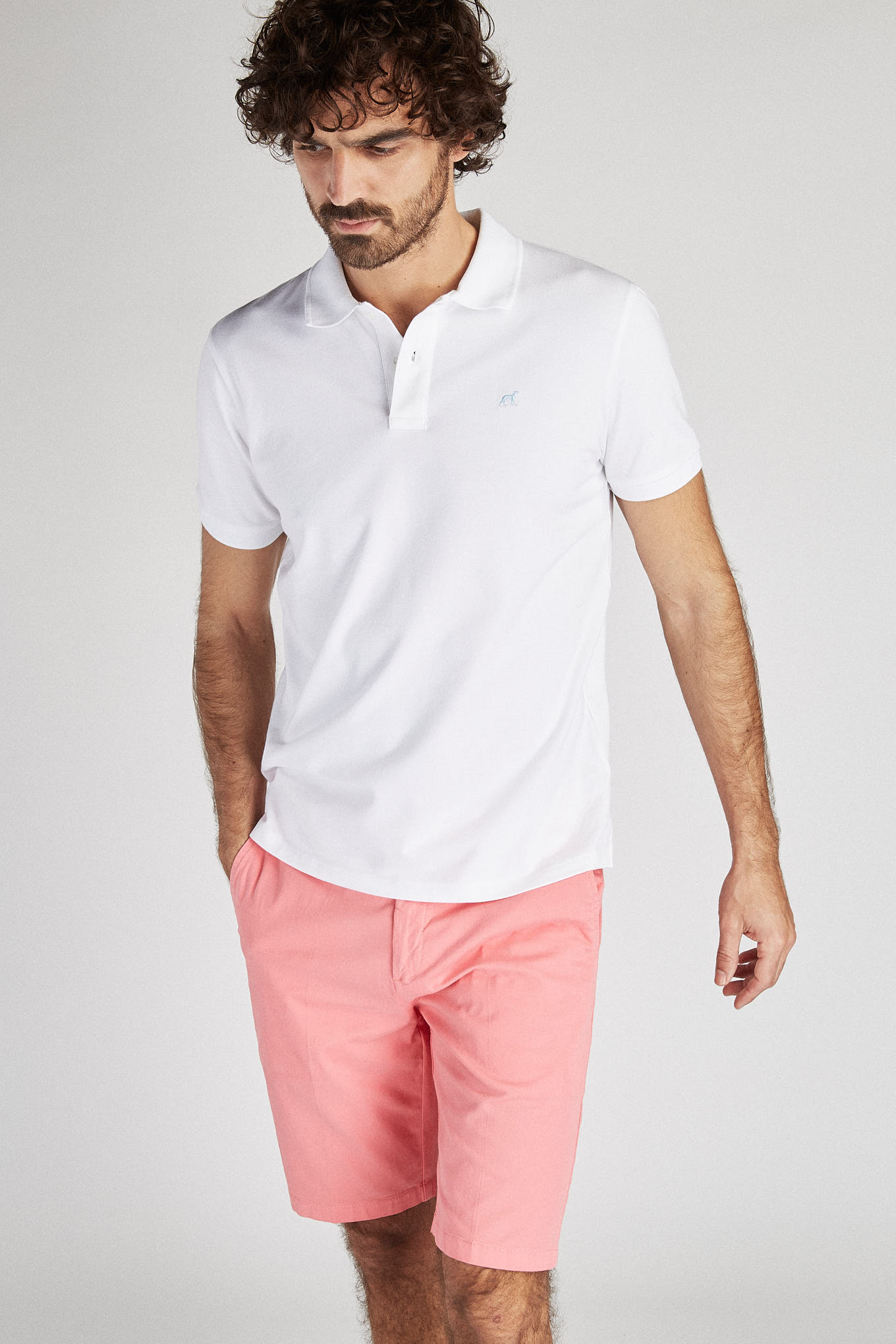 Bermuda Pink Casual Man