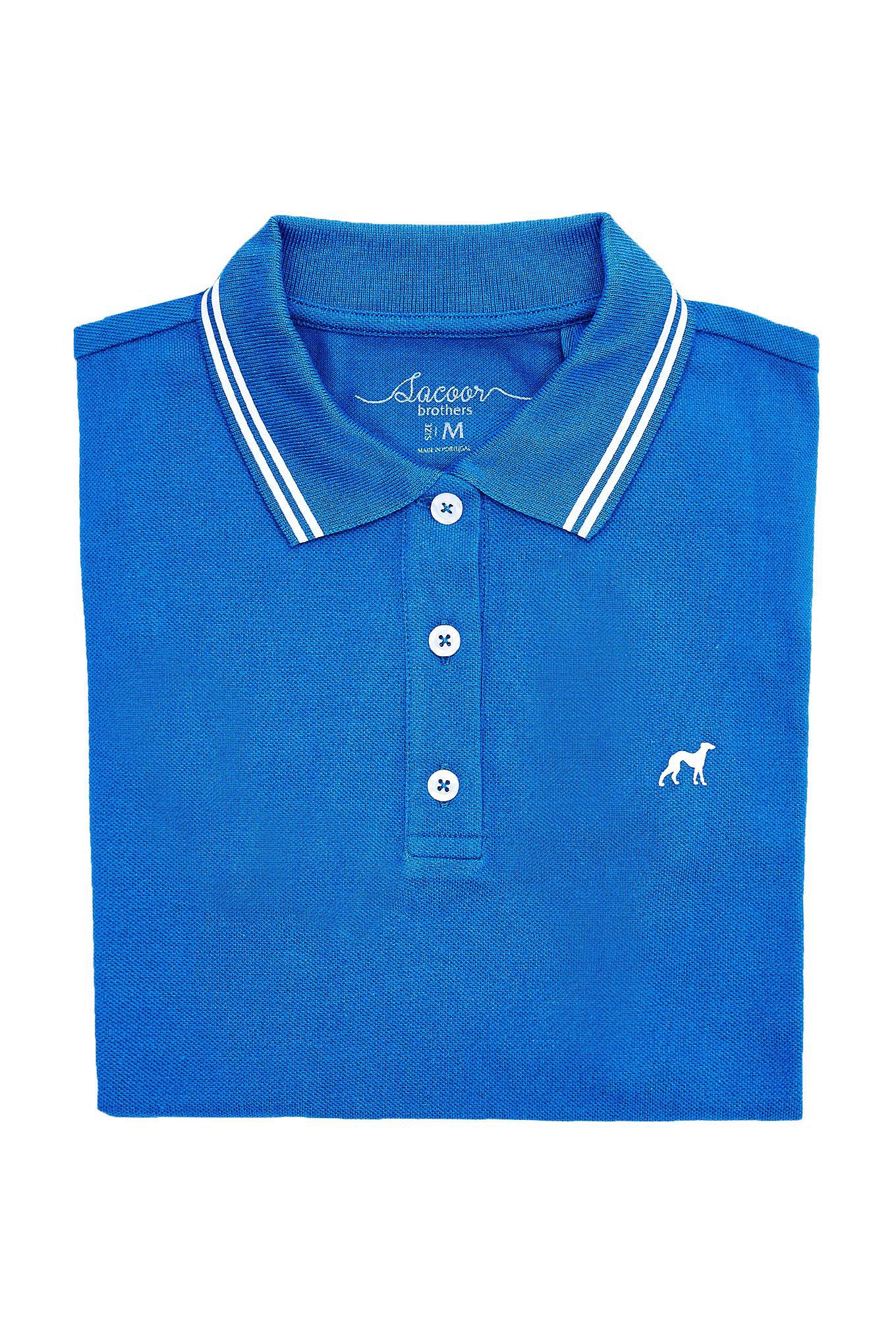 Polo Piquet Royal Blue Sport Woman