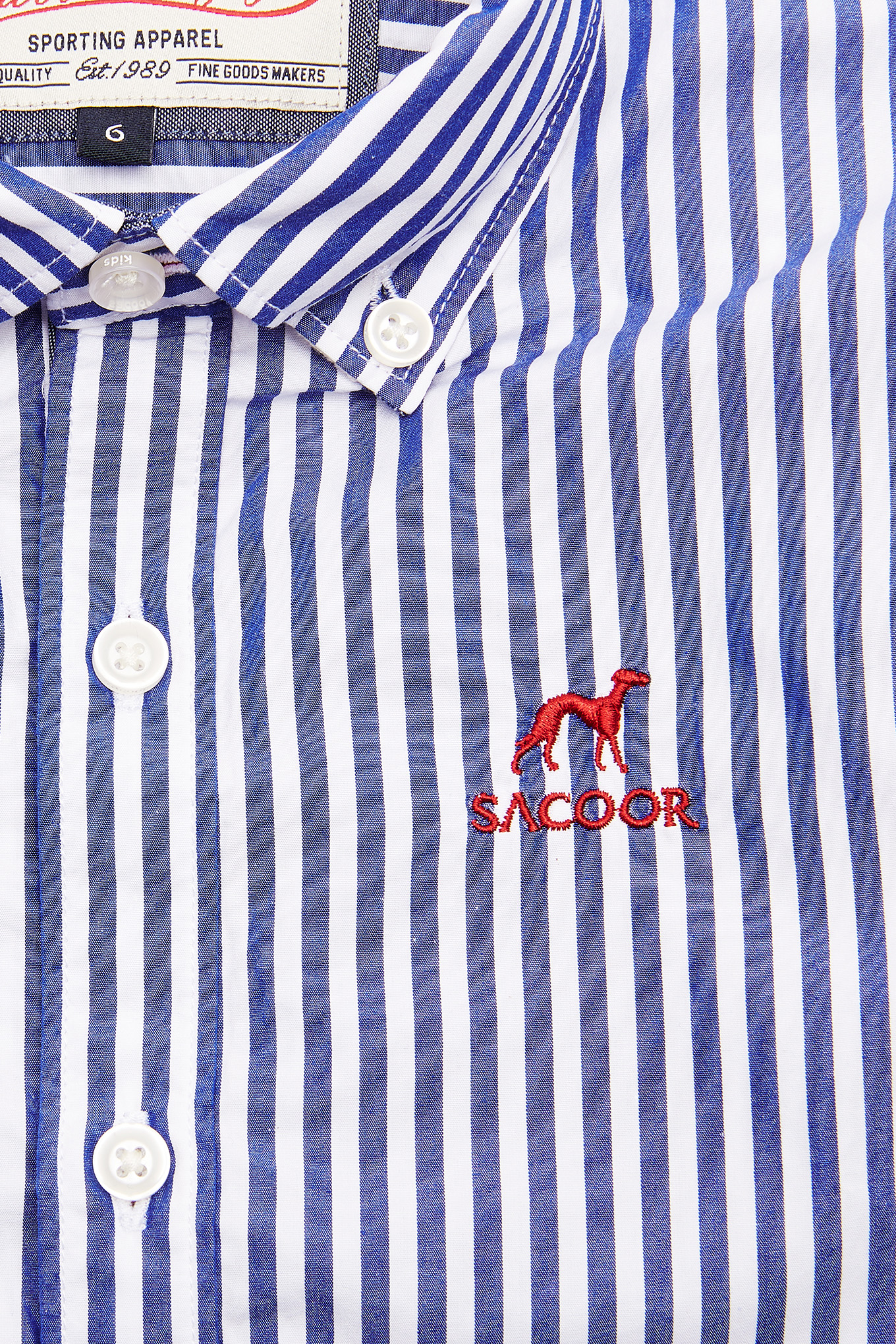 Camisa Azul Escuro Sport Rapaz