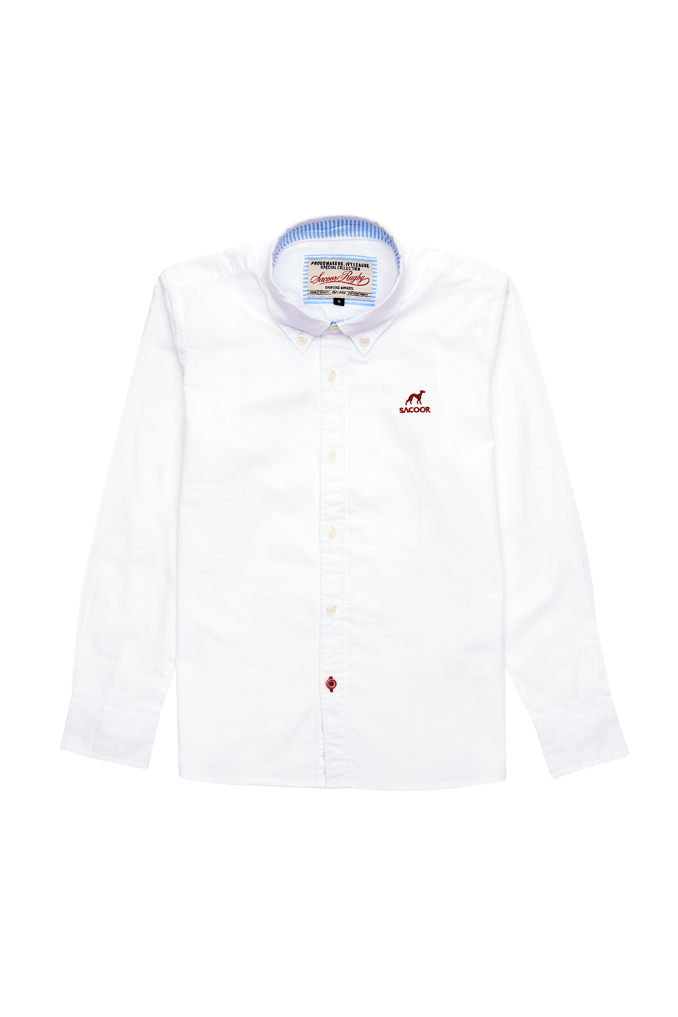 Shirt White Sport Boy
