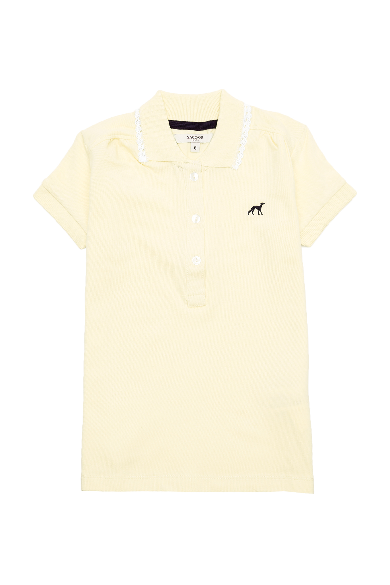 Polo Piquet Light Yellow Sport Girl