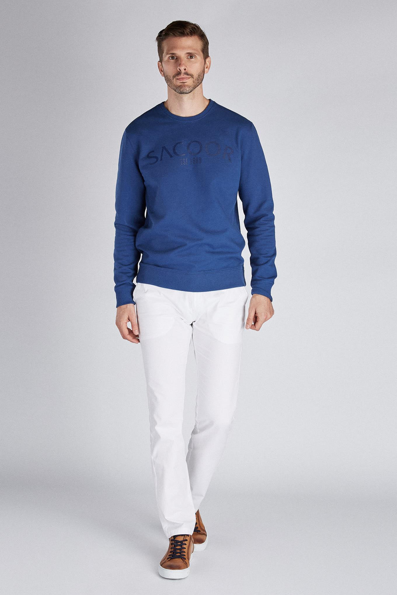 Sweatshirt Indigo Sport Man