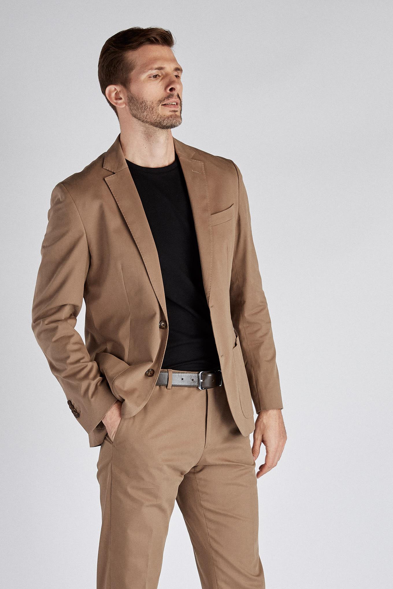 Suit Camel Classic Man