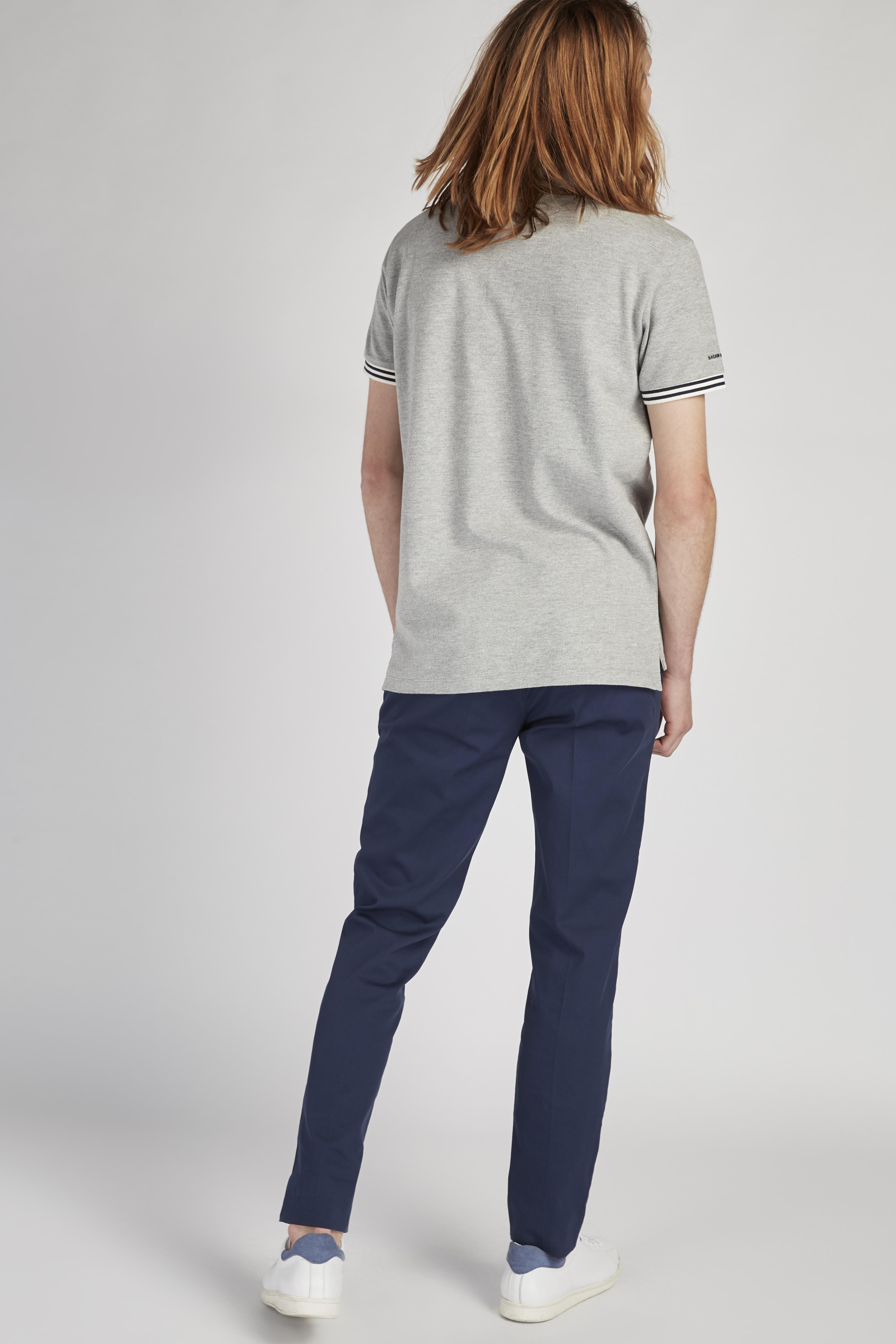 Chino Trousers Medium Blue Casual Man