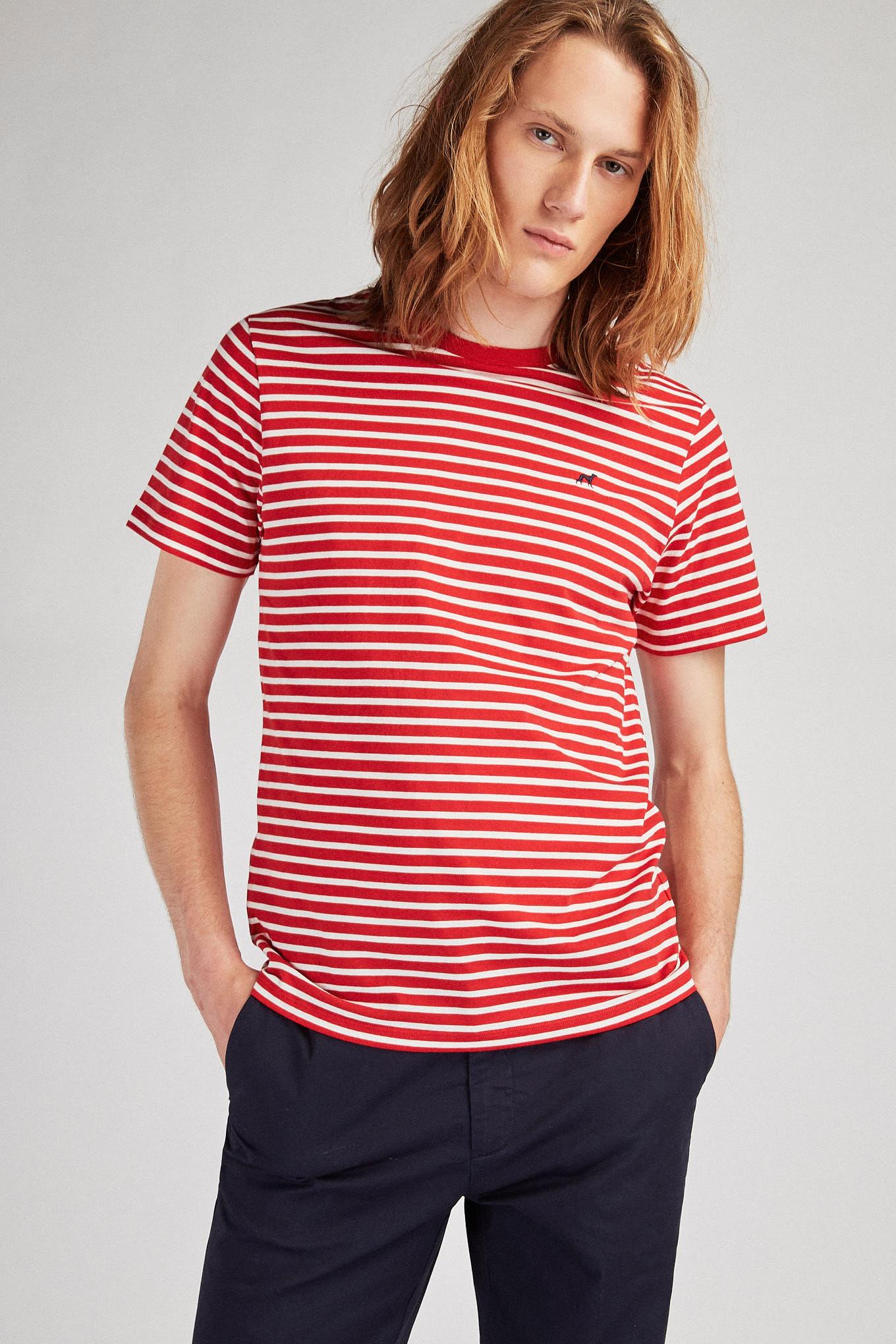 T-Shirt Red Sport Man