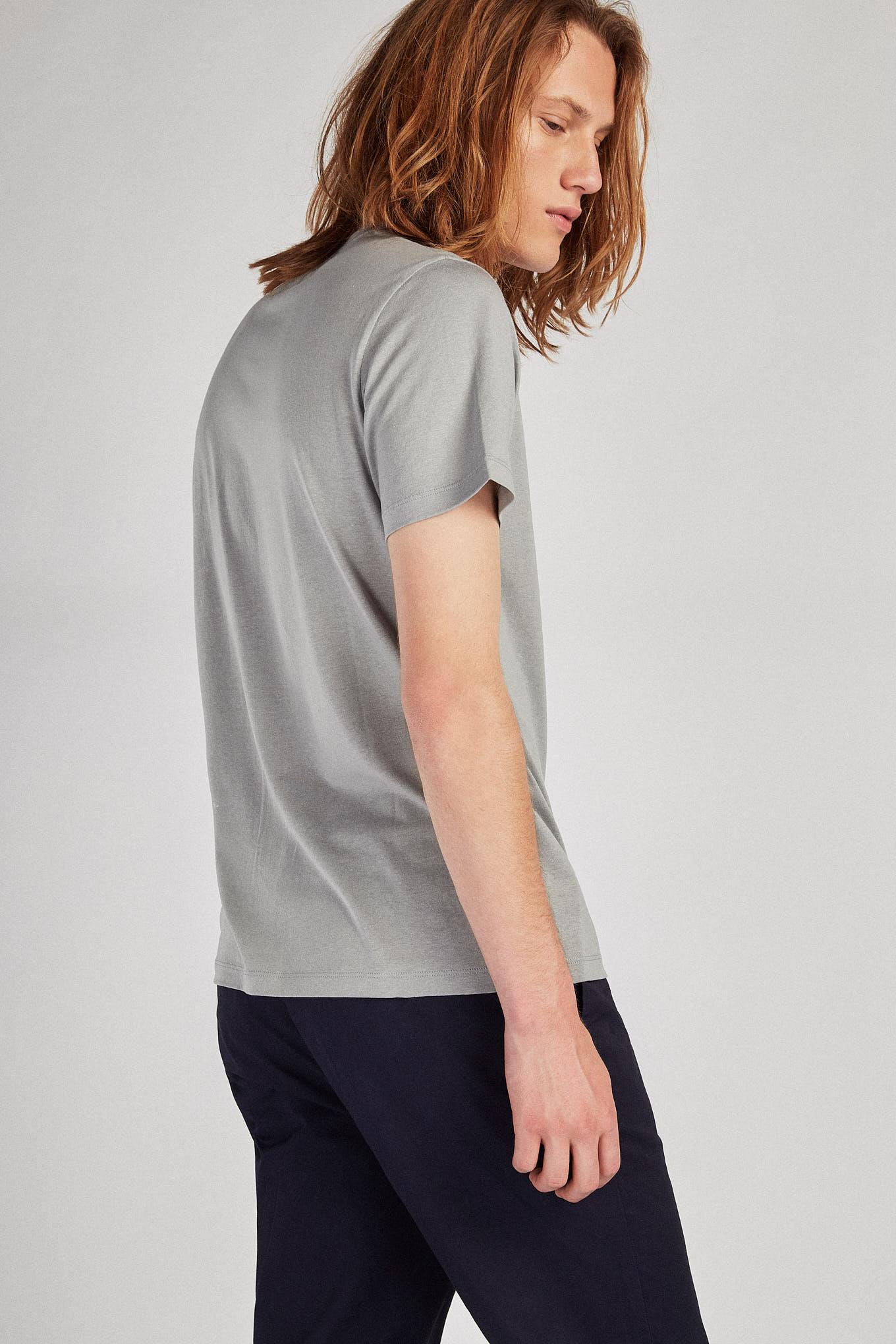 T-Shirt Mix Grey Sport Man