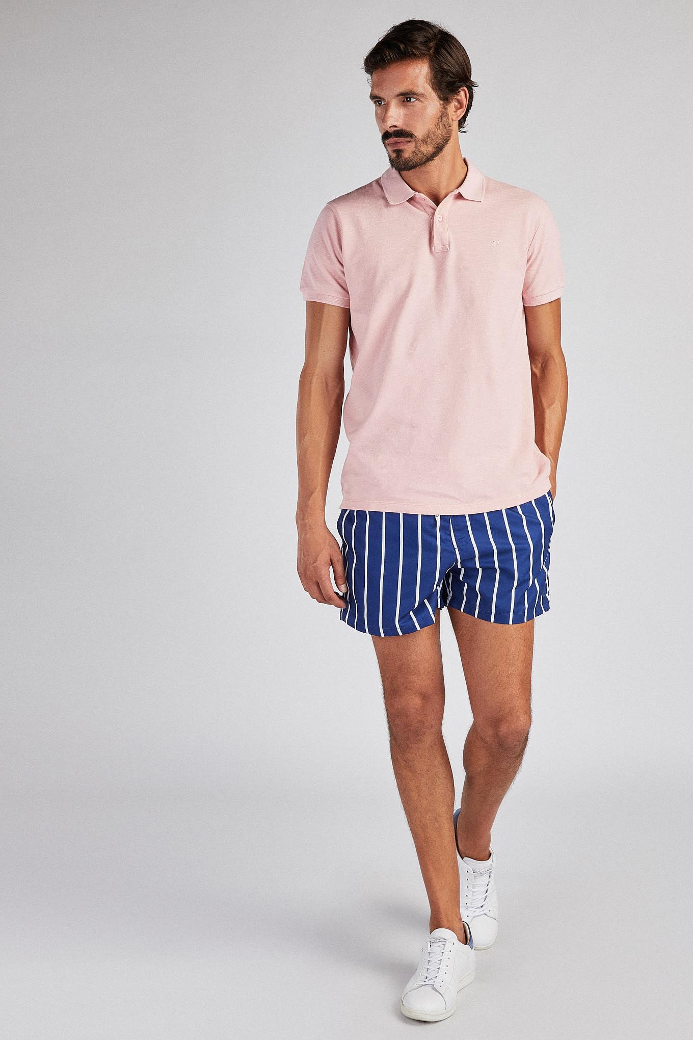 Beachwear Shorts Royal Blue Sport Man