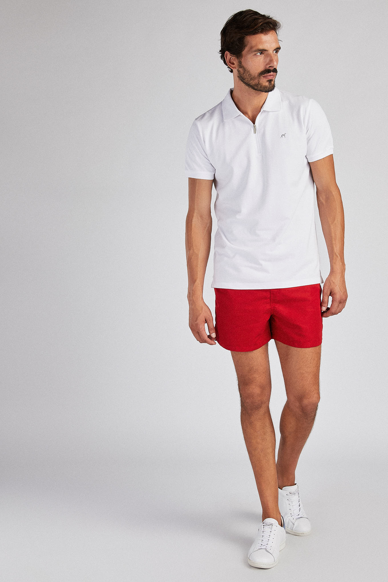 Beachwear Shorts Red Sport Man