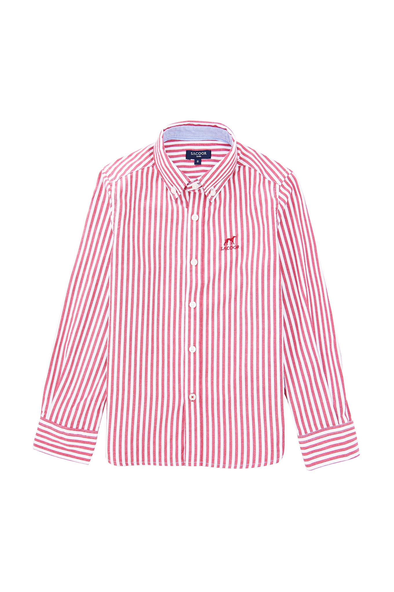 Shirt Red Casual Boy
