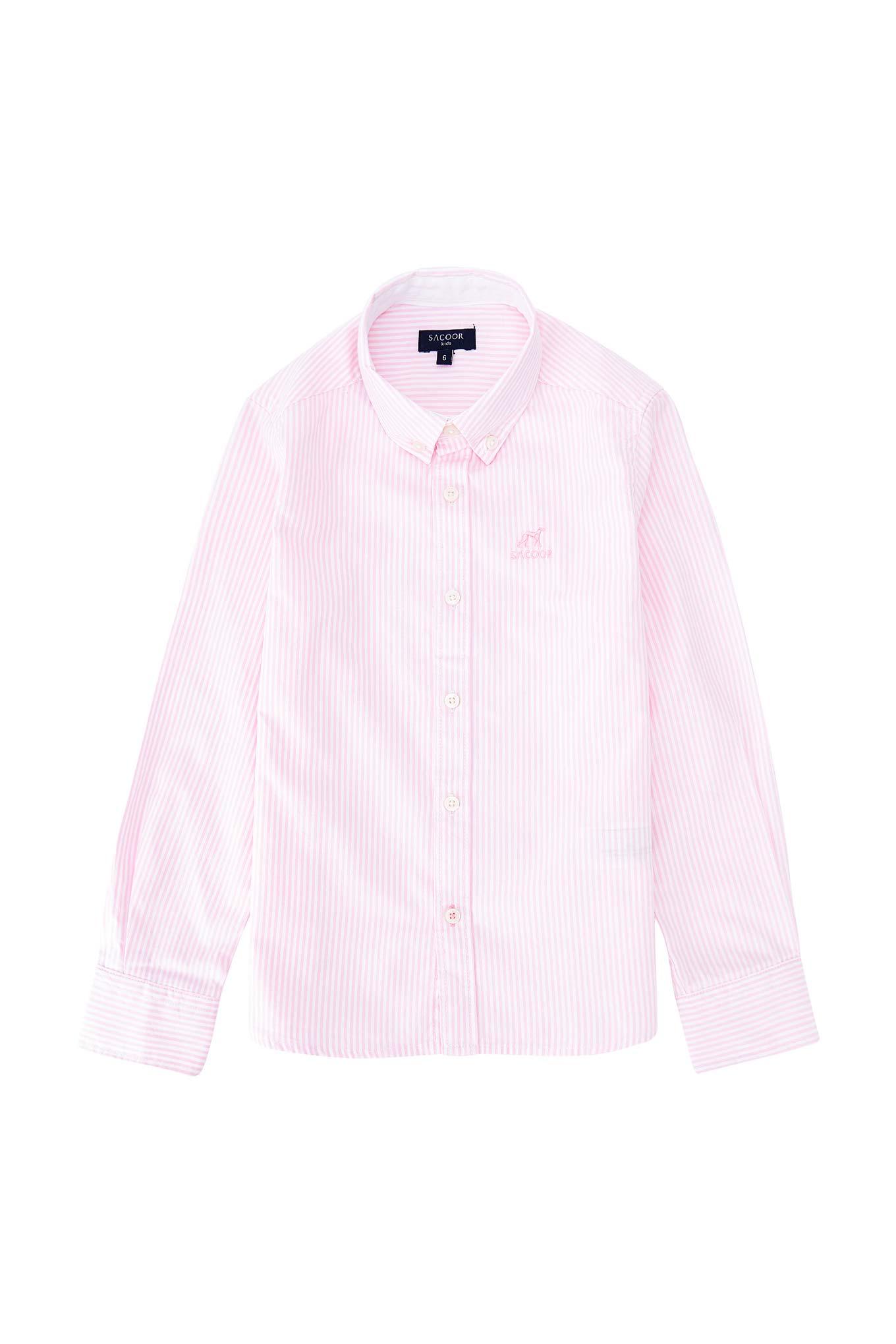 Shirt Pink Casual Boy