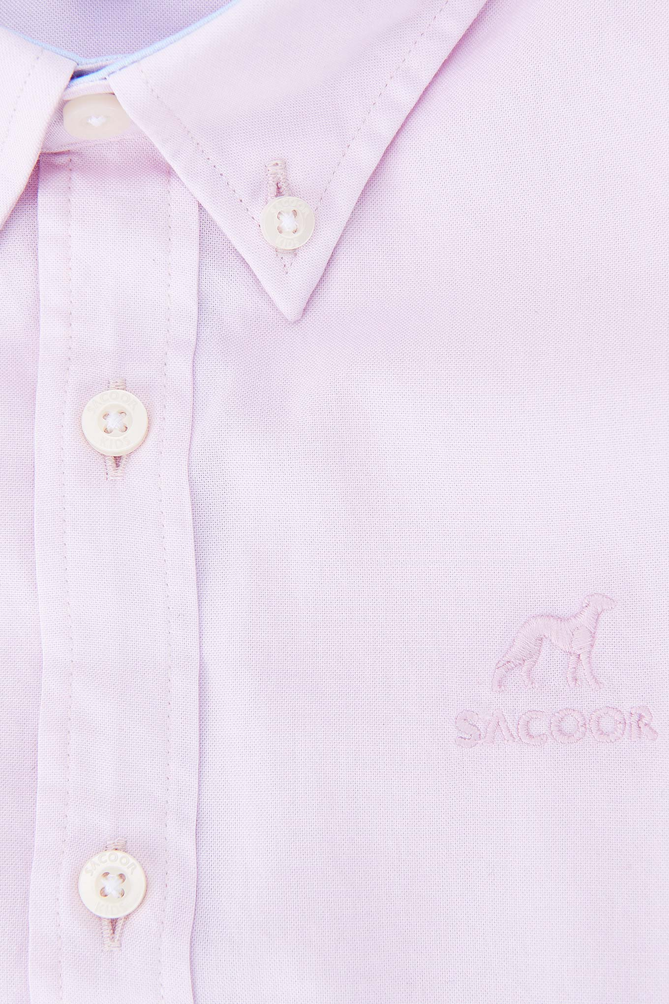 Shirt Light Pink Casual Boy