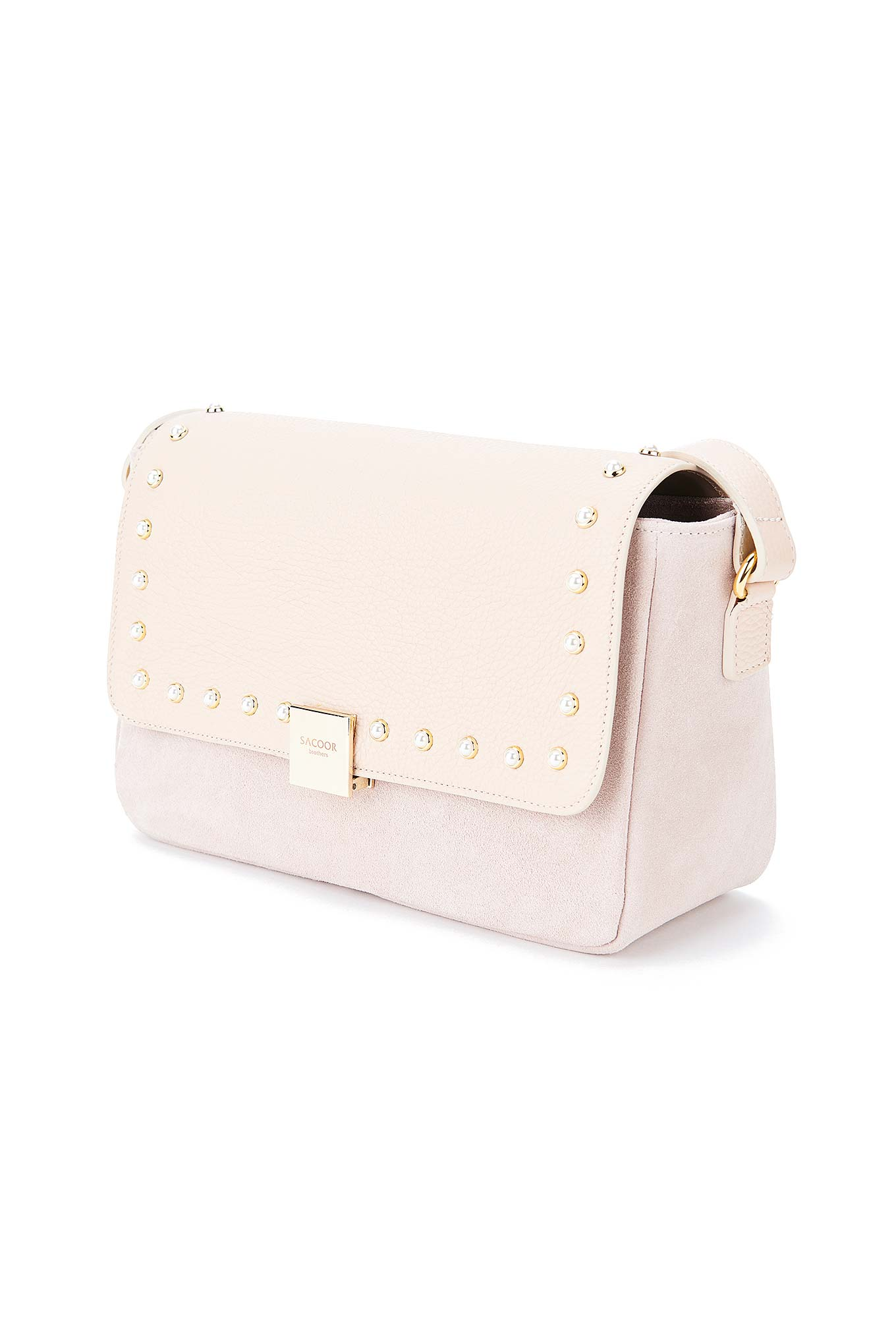 Bag Pale Pink Classic Woman