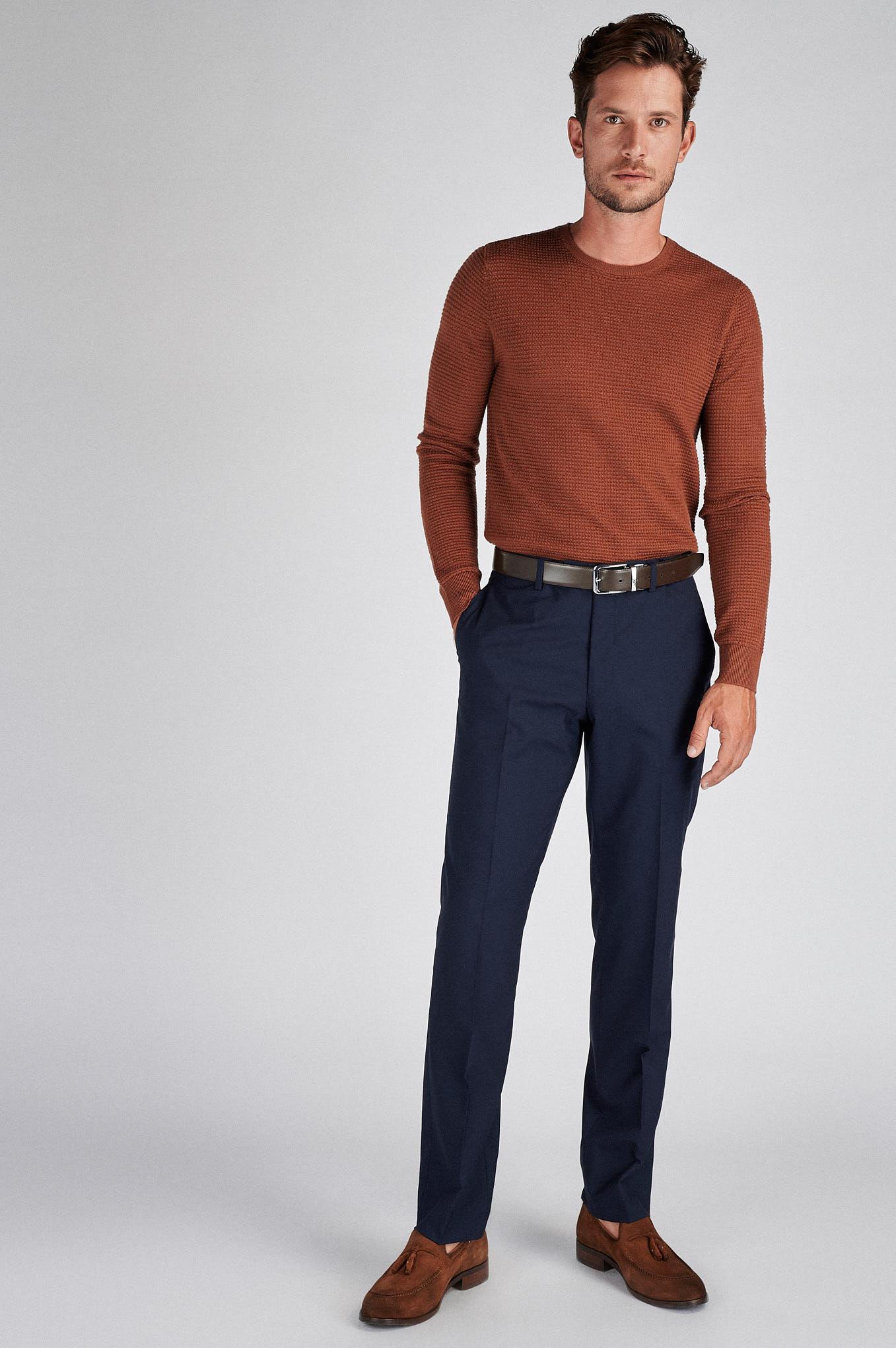 Sweater Caramel Casual Man