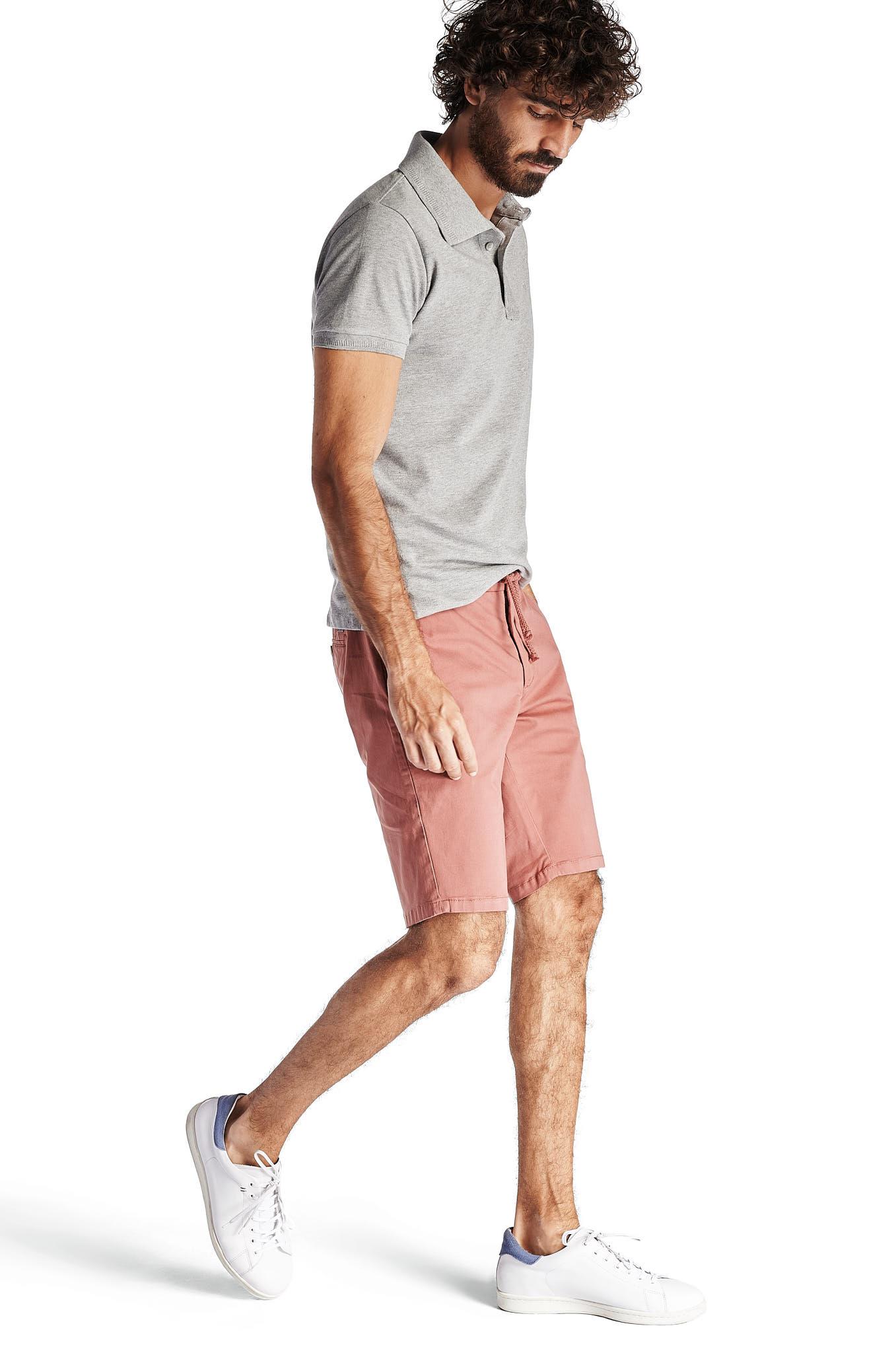 Bermuda Rosa Sport Homem