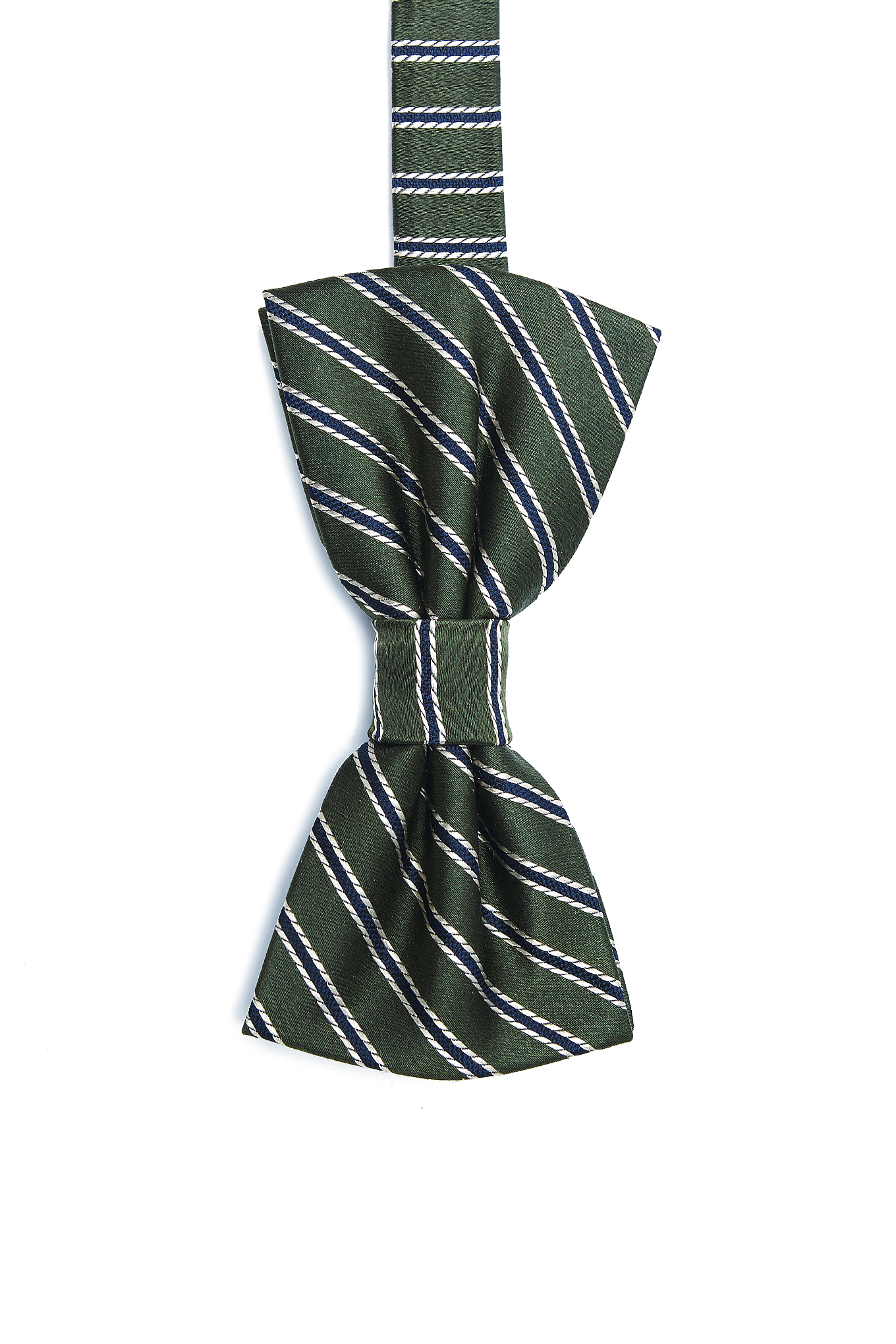 Bow Tie Green Casual Man