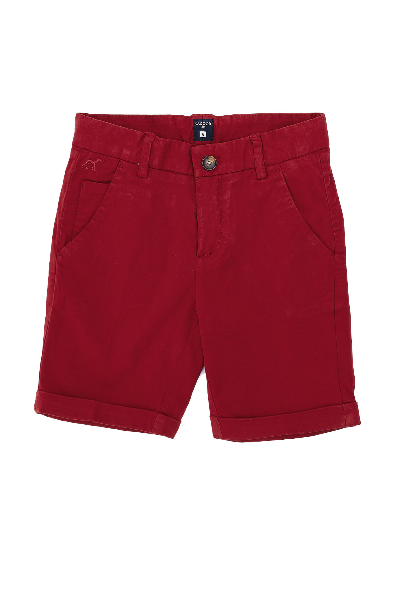 Bermuda Red Sport Boy