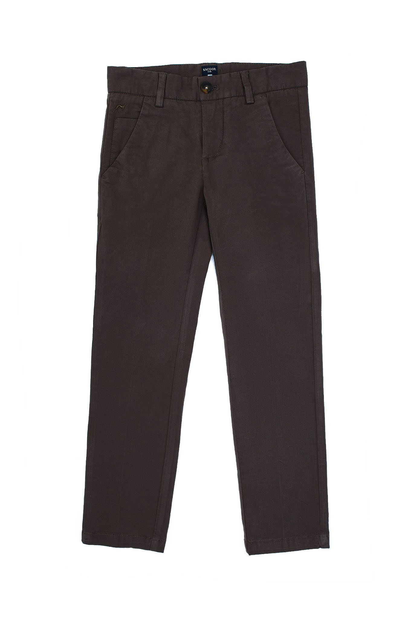 Chino Trousers Brown Sport Boy