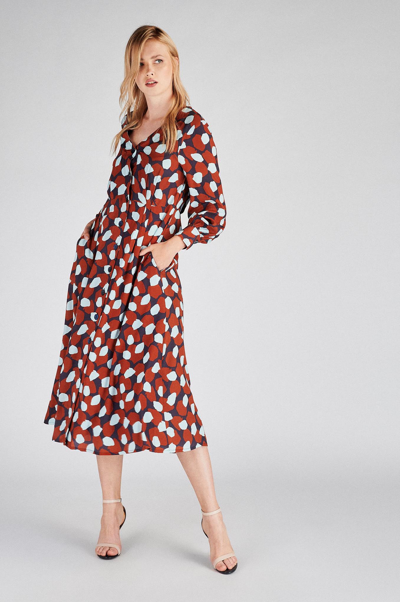 Dress Print Fantasy Woman