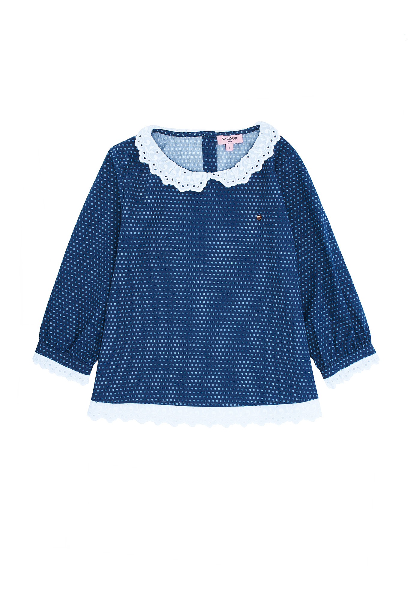 Blouse Dark Blue Fantasy Girl
