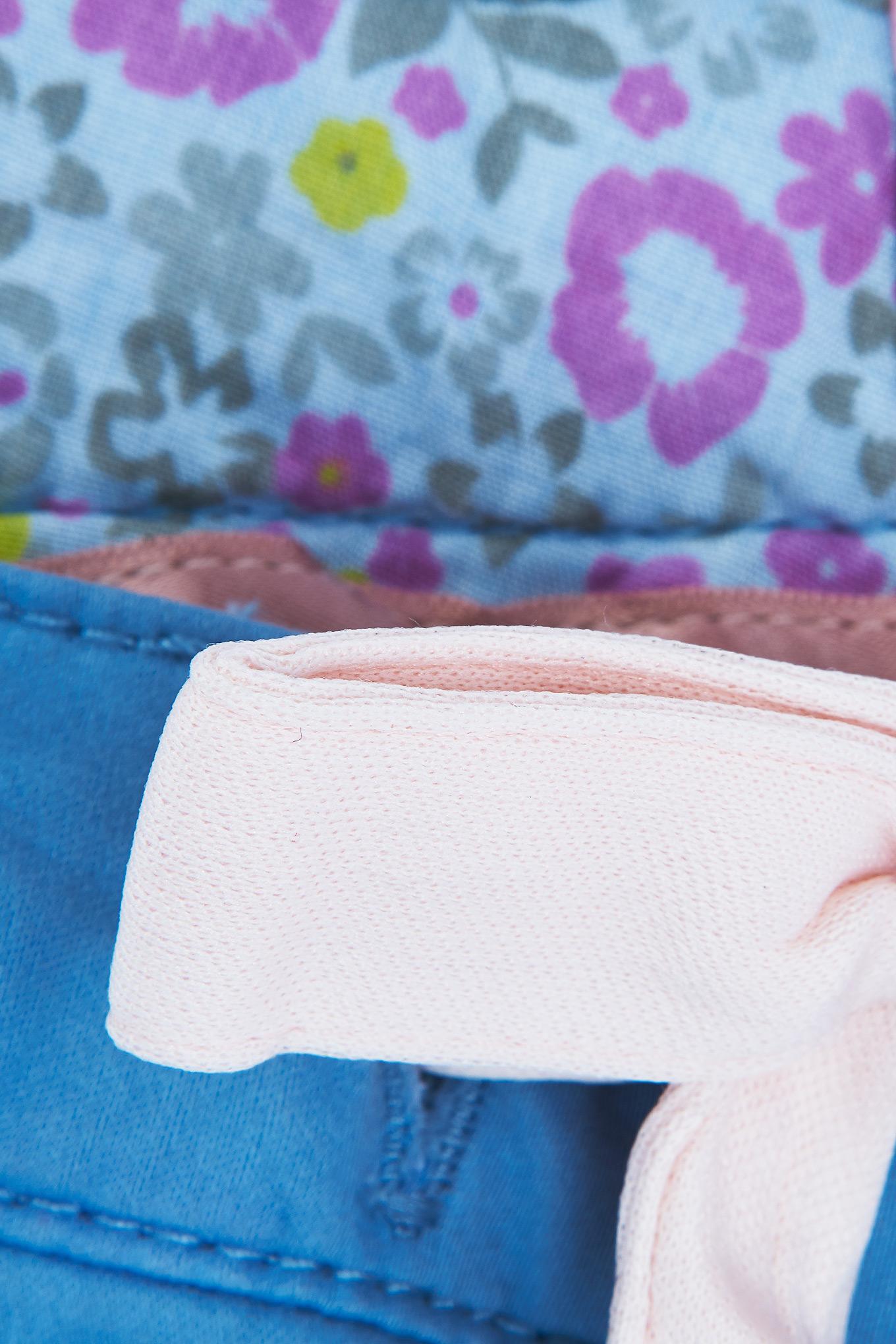 Calças Chino Azul Claro Casual Rapariga