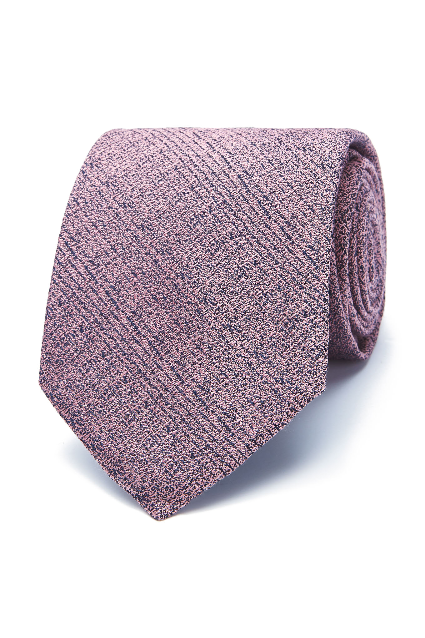 Gravata Rosa Escuro Classic Homem