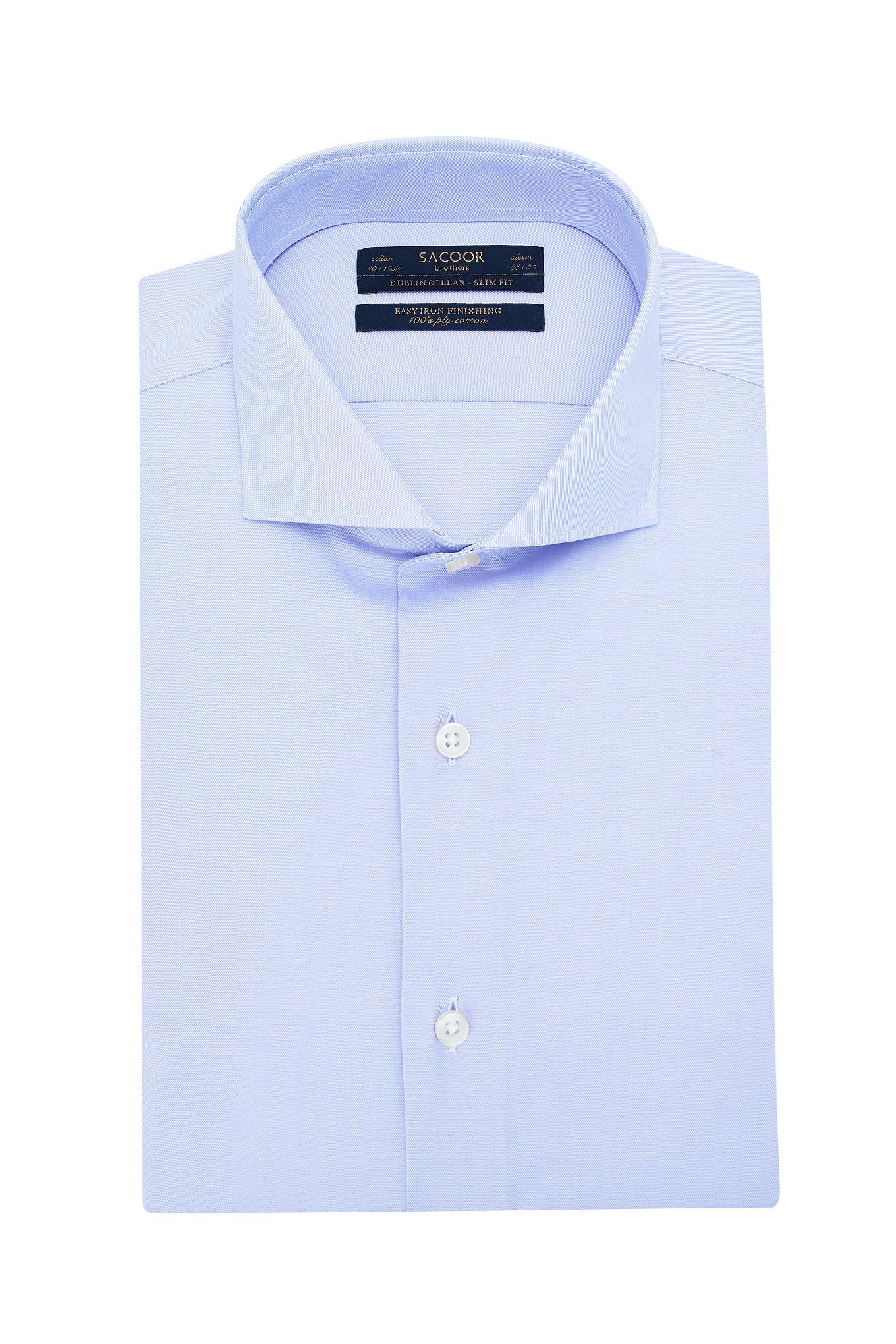 Shirt Purple Classic Man