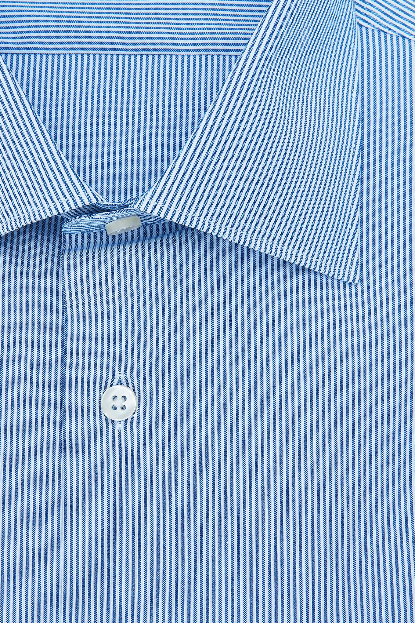 Camisa Azul Escuro Classic Homem