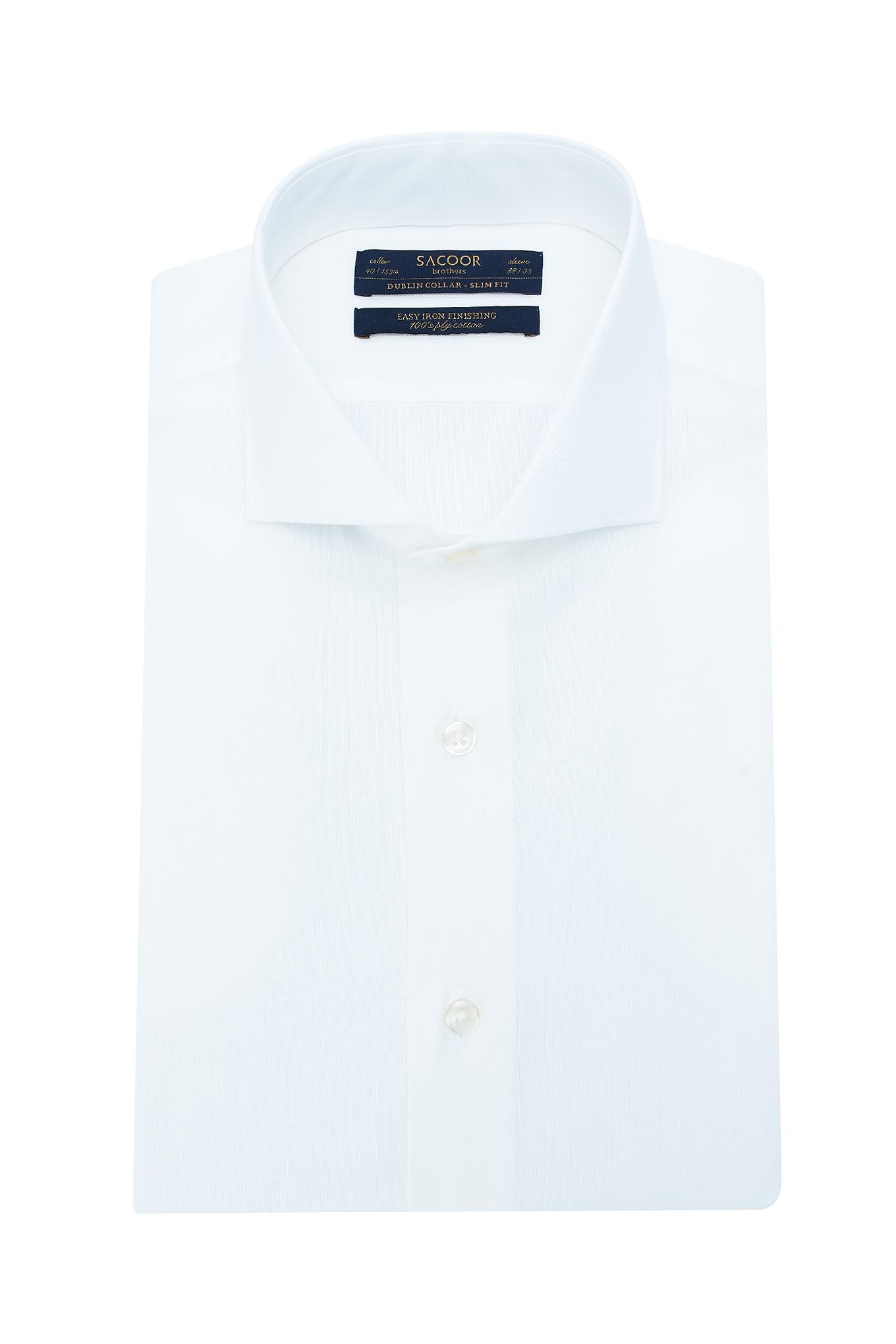 Shirt Light Beige Classic Man