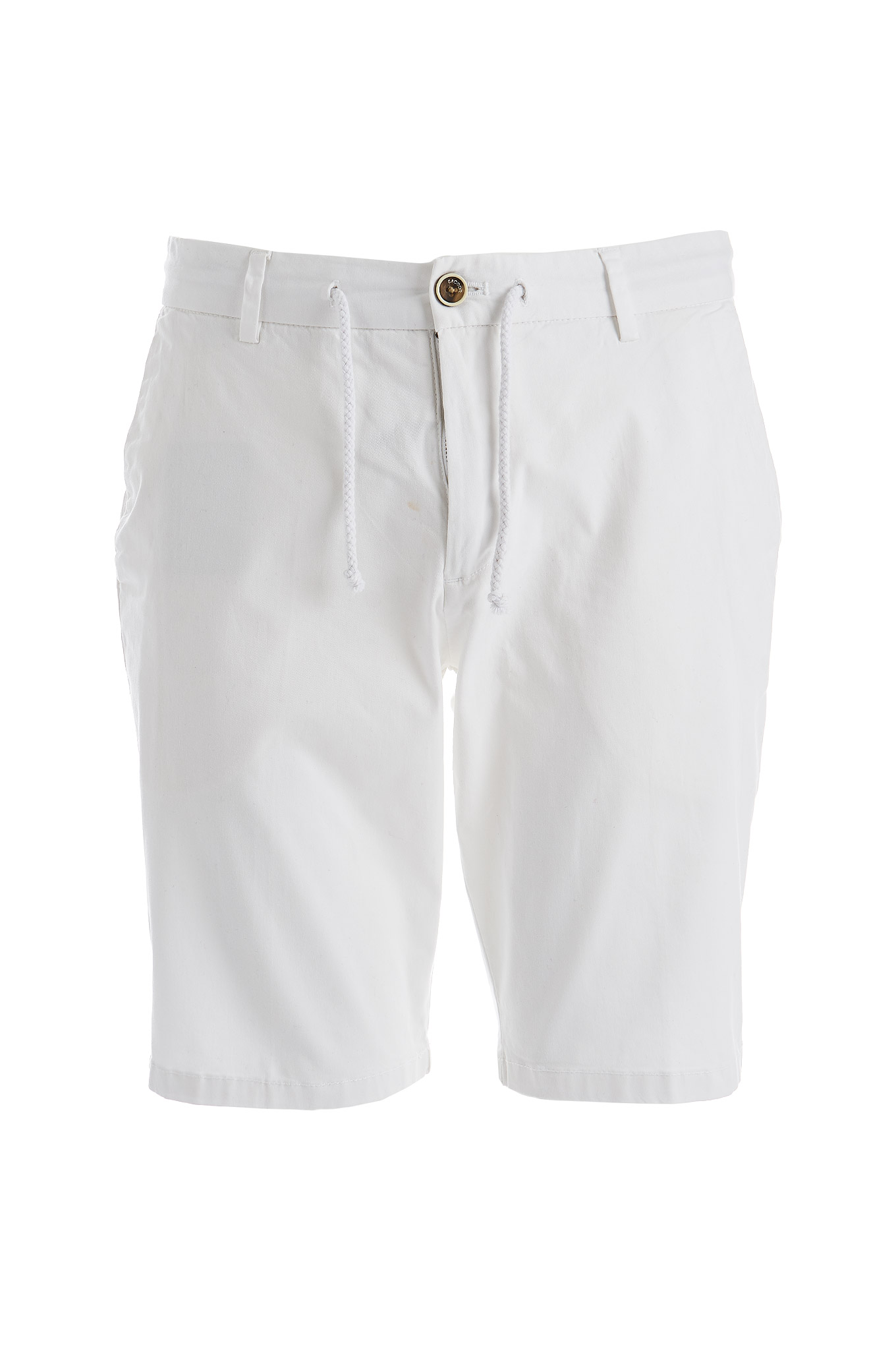 Bermuda White Sport Man