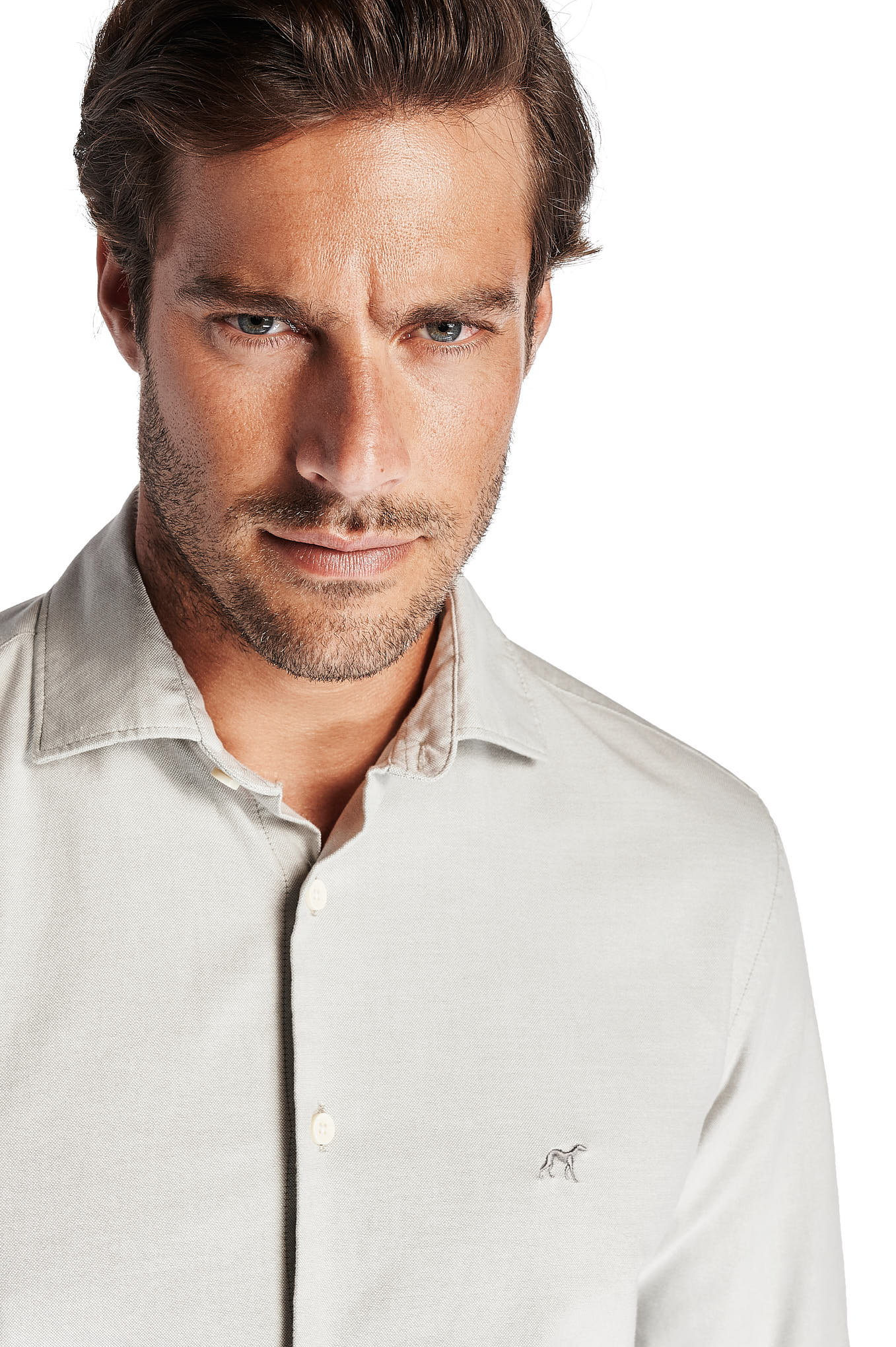 Shirt Mix Grey Sport Man