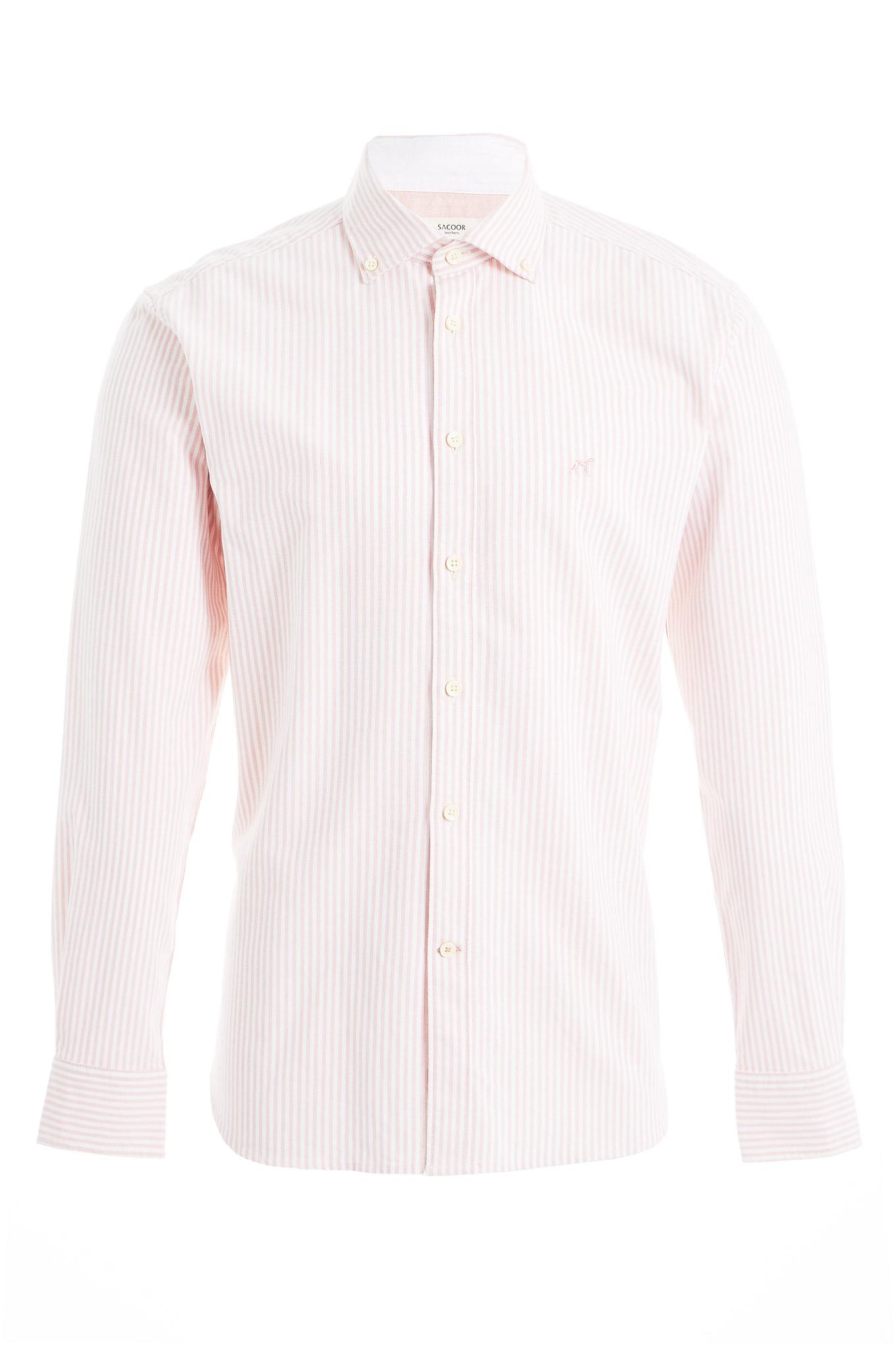 Shirt Pale Pink Sport Man