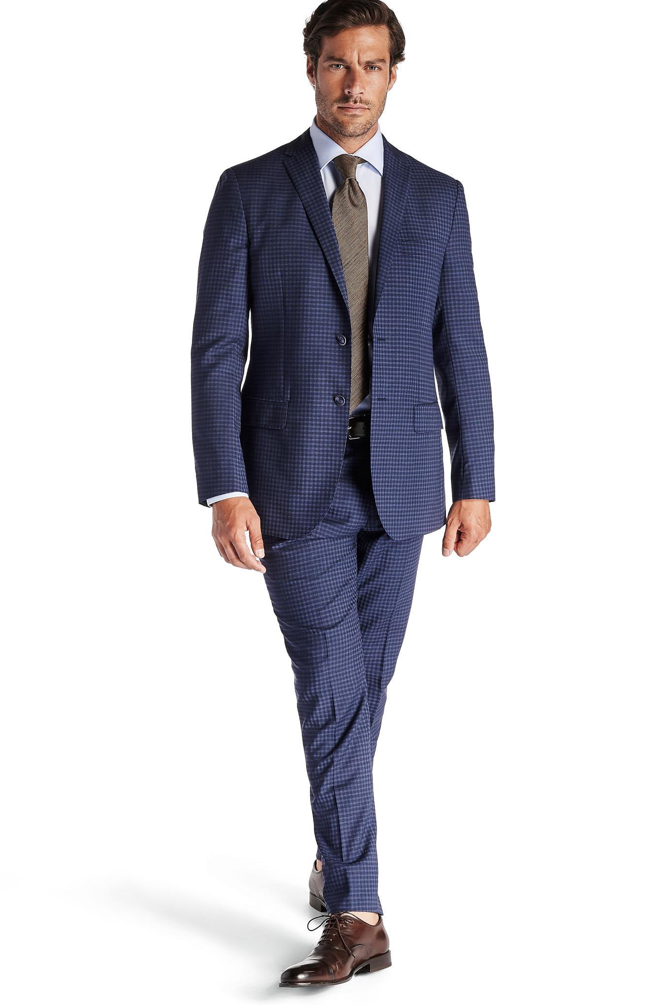 Suit Blue Classic Man