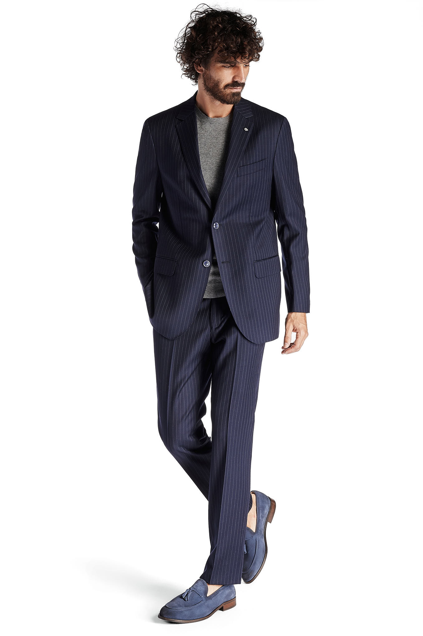 Suit Dark Blue Classic Man