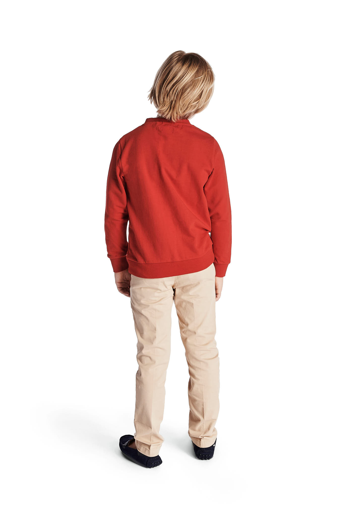 Sweatshirt Red Sport Boy