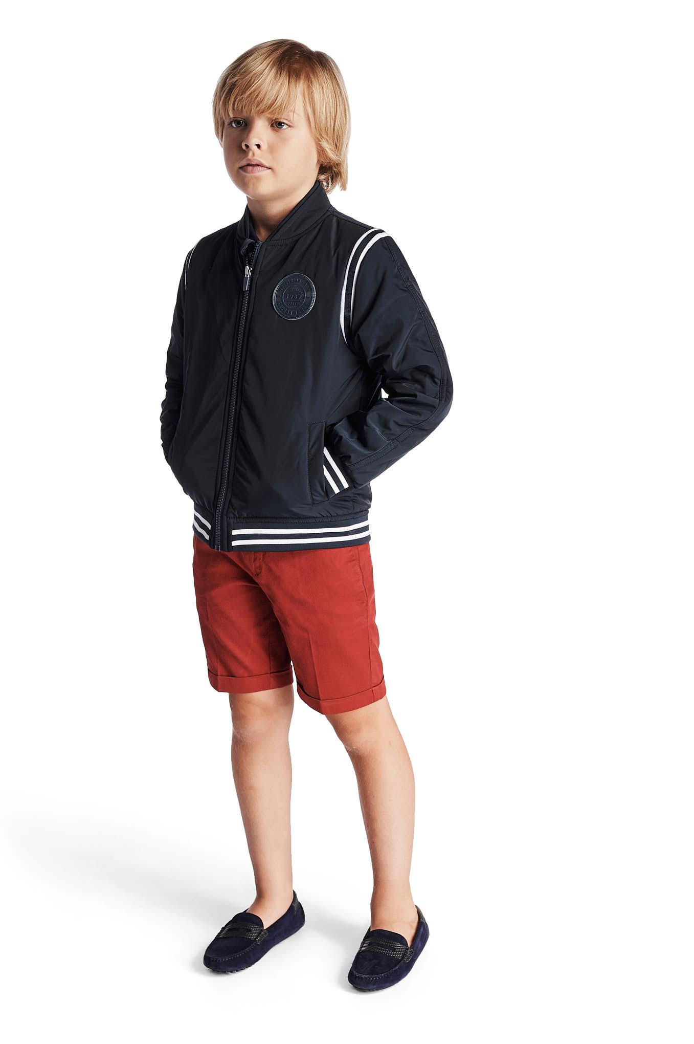 Jacket Dark Blue Casual Boy