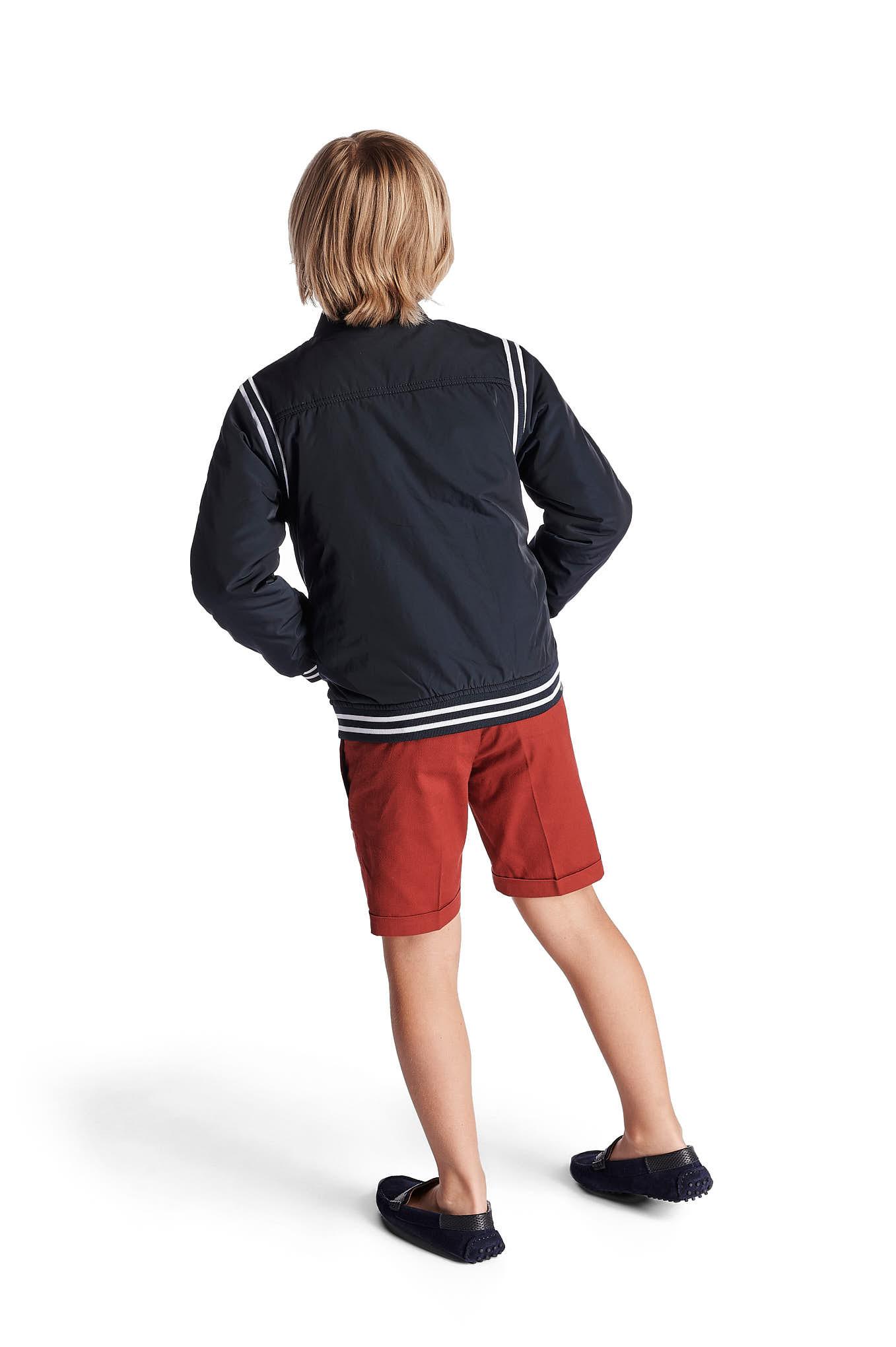 Blusão Azul Escuro Casual Rapaz