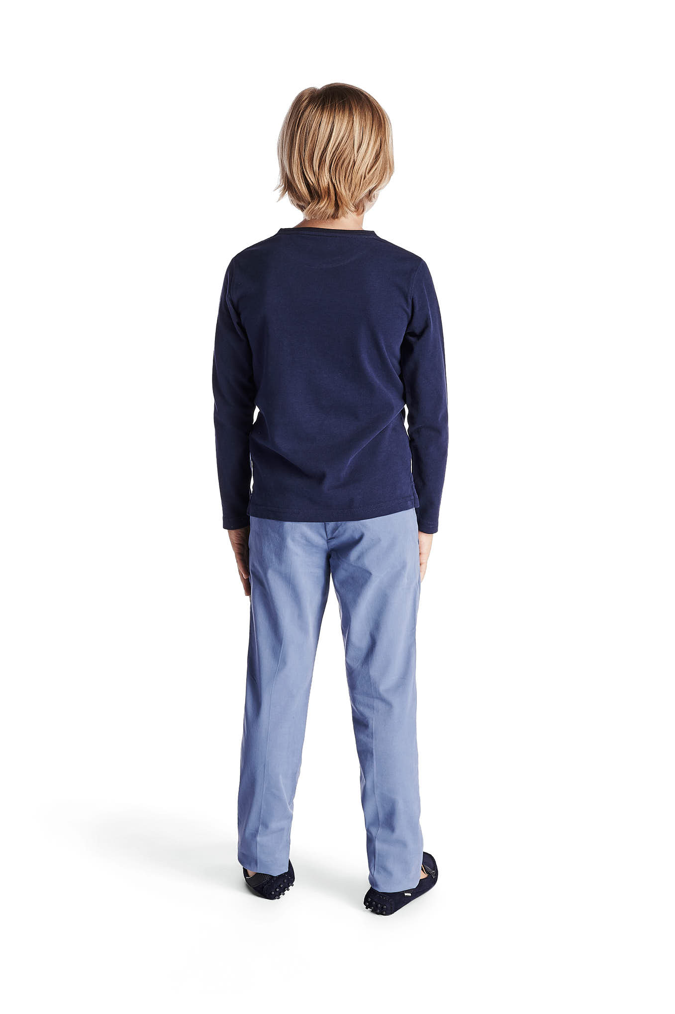 Chino Trousers Blue Sport Boy
