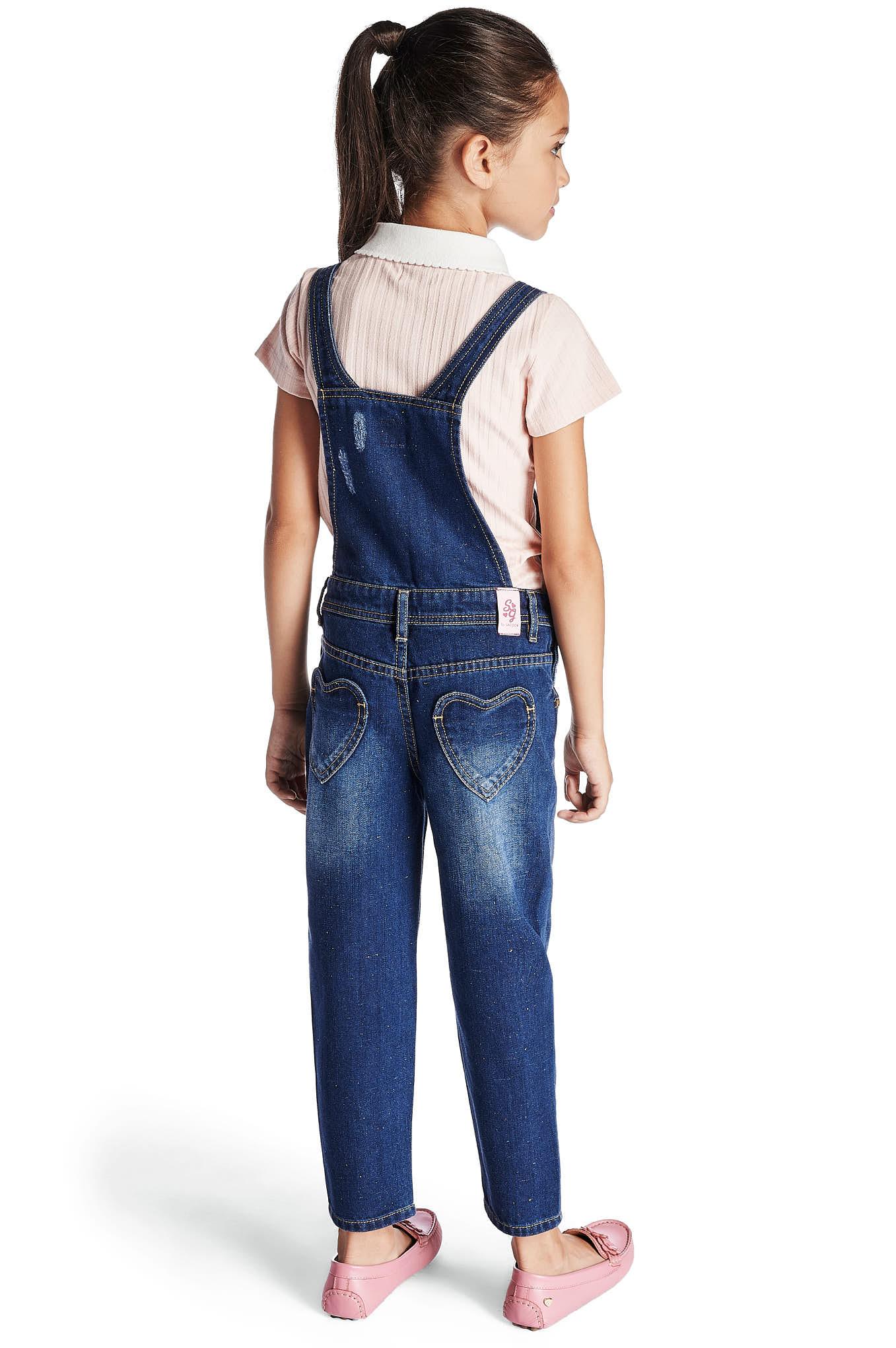 Jumpsuit Medium Blue Sport Girl