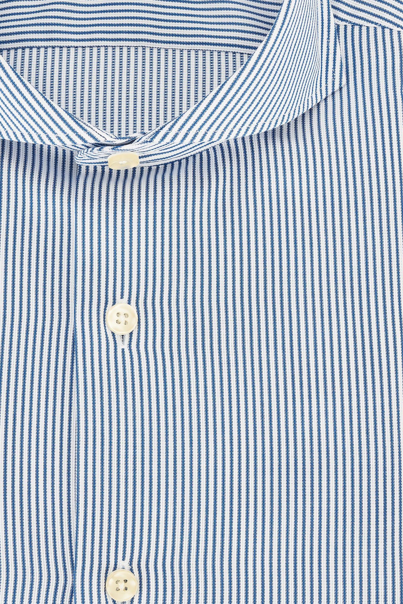 Camisa Azul Royal Classic Homem
