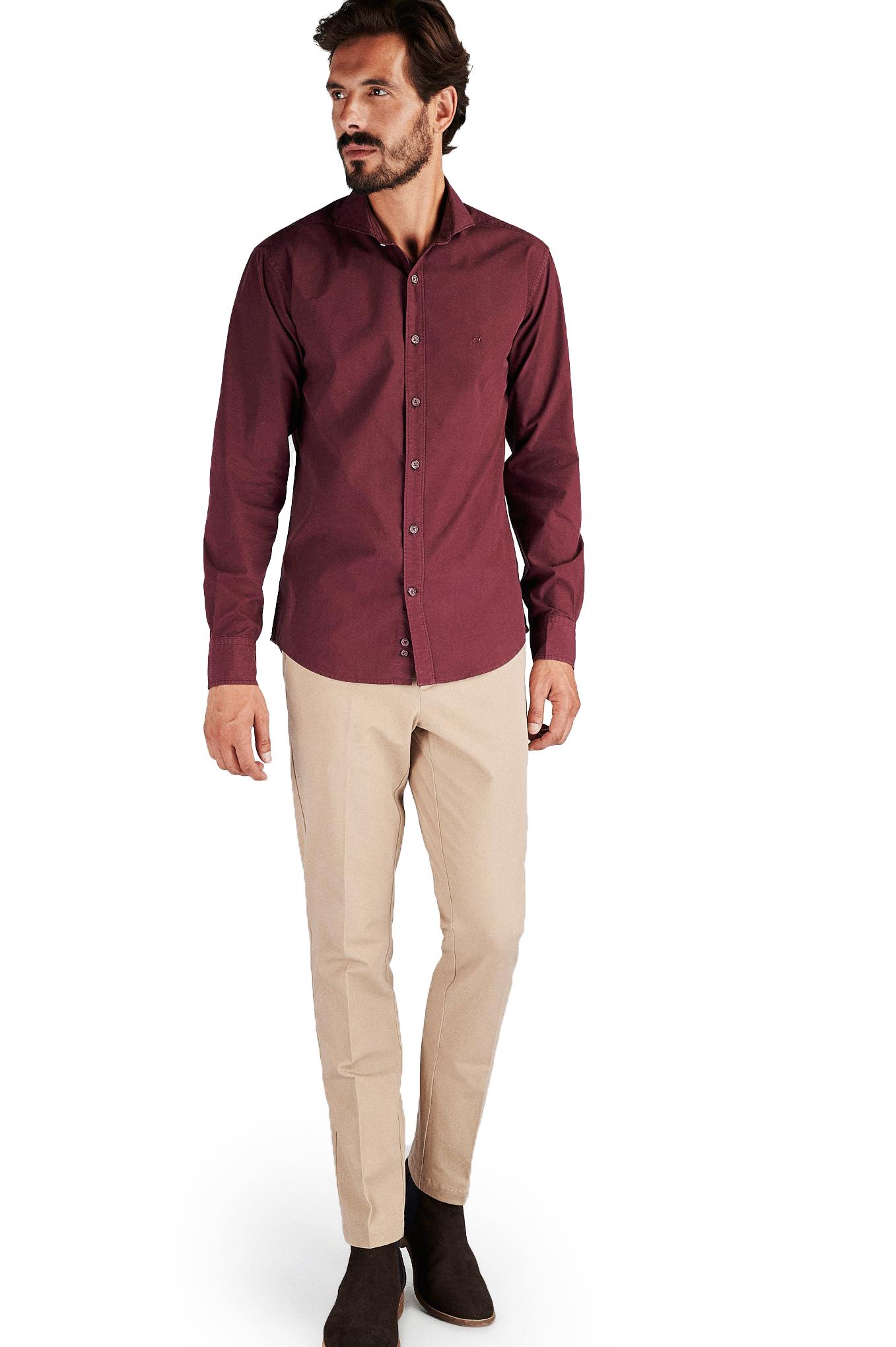Camisa Bordeaux Sport Homem